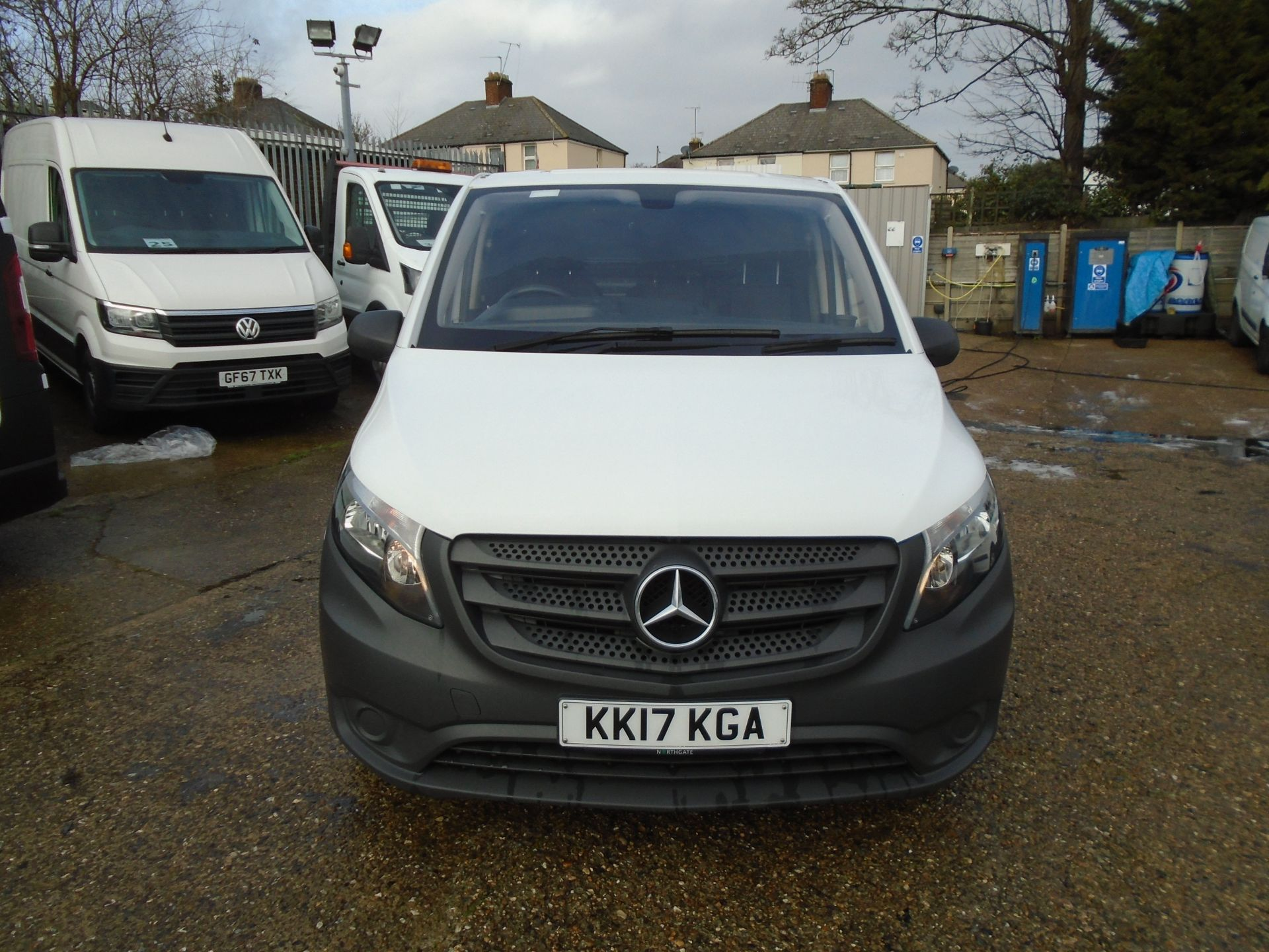 2017 Mercedes-Benz Vito 111Cdi Van *EURO 6* (KK17KGA) Image 2