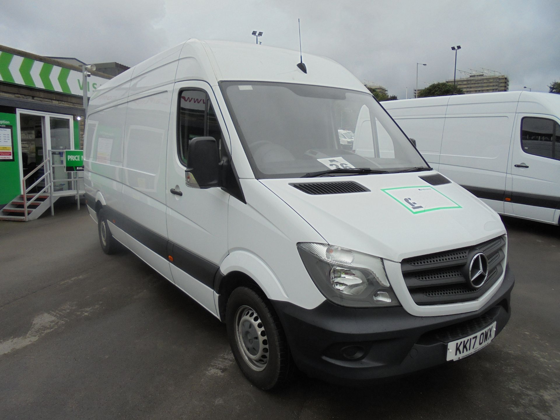 2017 Mercedes-Benz Sprinter 3.5T High Roof Van (KK17OWX)