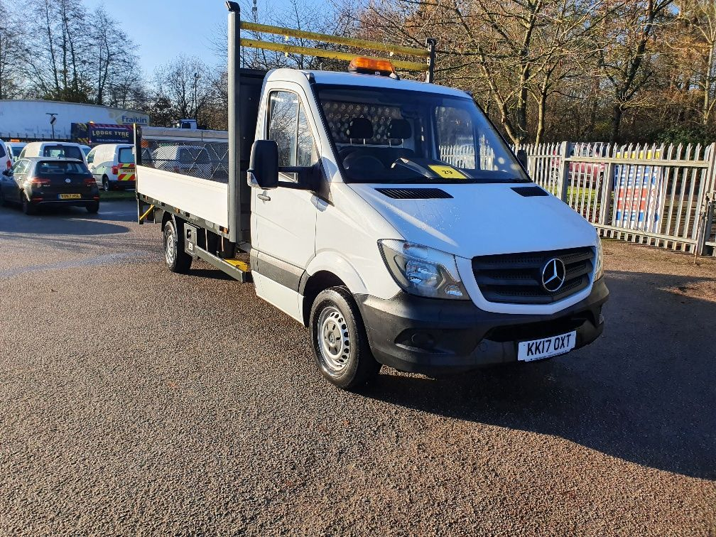 2017 Mercedes-Benz Sprinter 314 DROPSIDE 2.2 141PS S/CAB 3.5T TAILLIFT