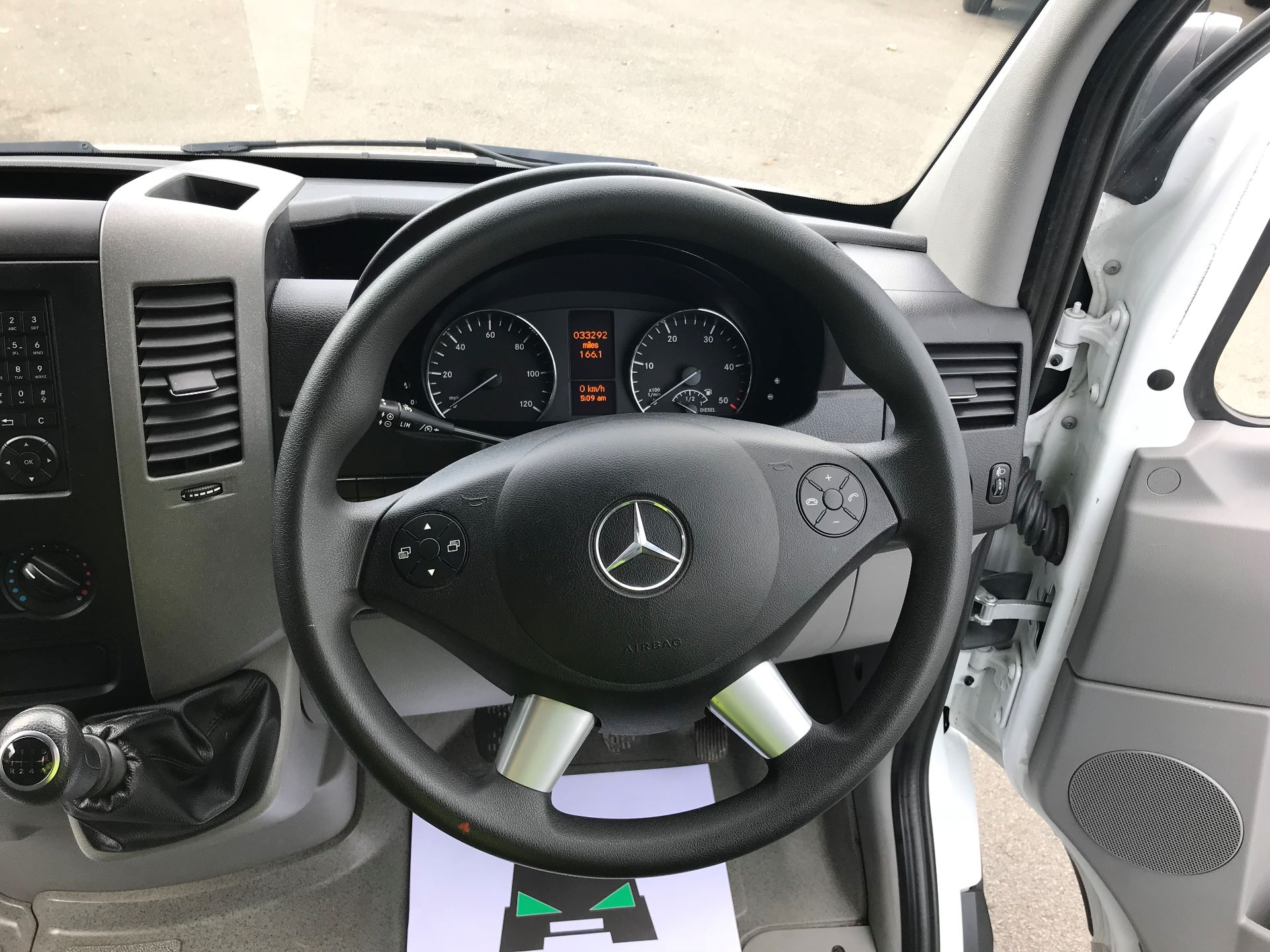 2017 Mercedes-Benz Sprinter  314 LWB H/R VAN EURO 6 (KK17PDO) Image 21