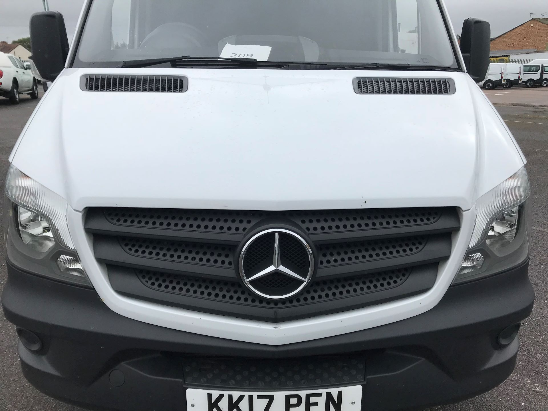 2017 Mercedes-Benz Sprinter  314 LWB H/R VAN EURO 6 (KK17PFN154) Image 12