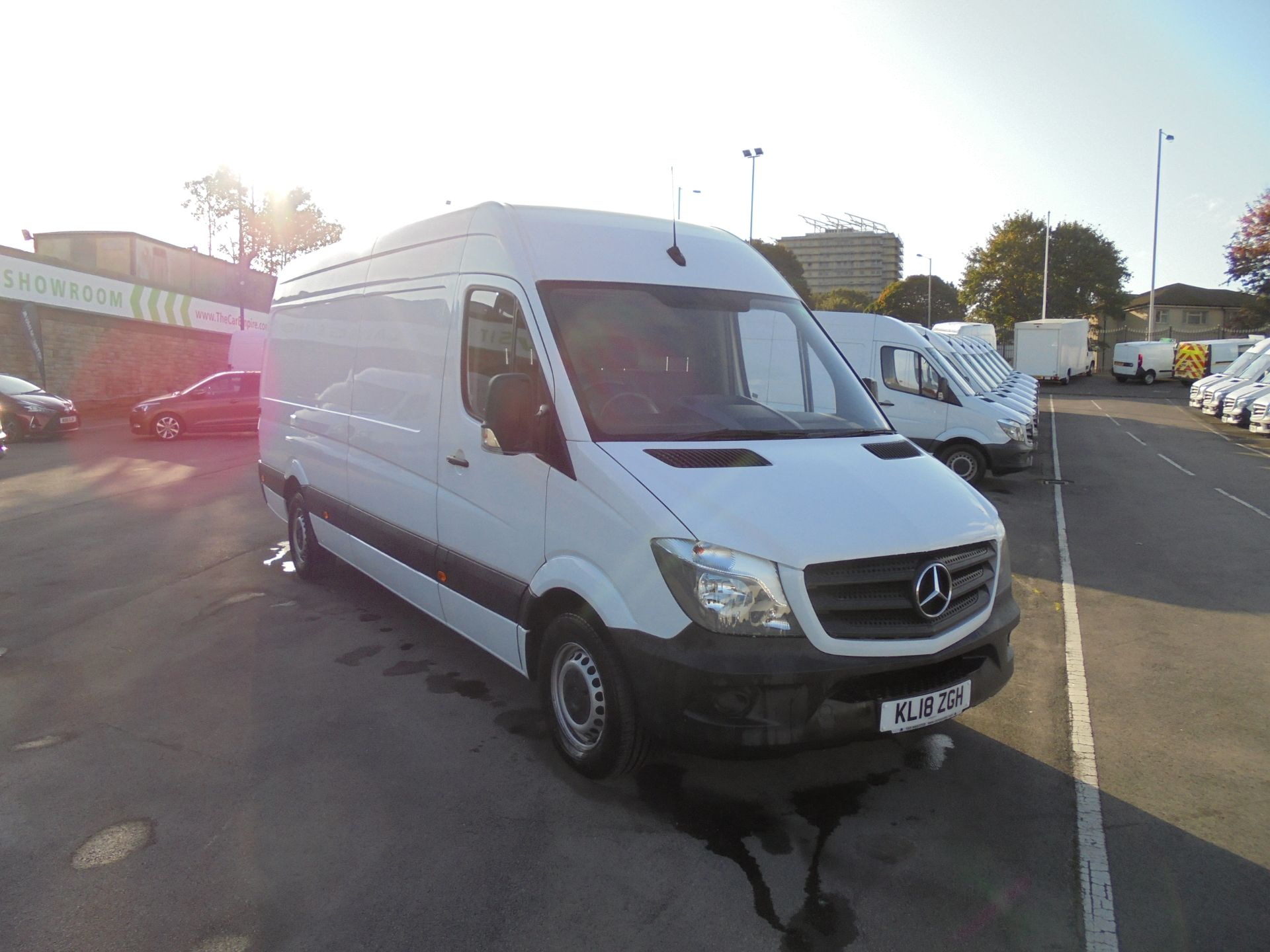 2018 Mercedes-Benz Sprinter 3.5T High Roof Van (KL18ZGH)