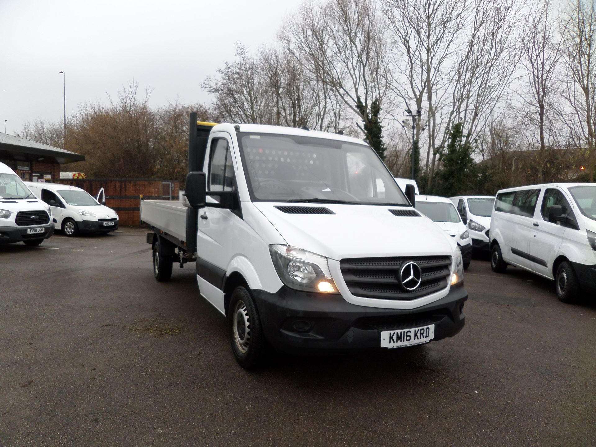 2016 Mercedes-Benz Sprinter 313 LWB DROP SIDE EURO 5 (KM16KRD)