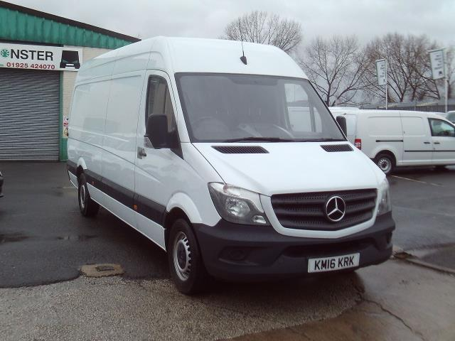 2016 Mercedes-Benz Sprinter 313cdi lwb High Roof 130ps (KM16KRK) Image 1