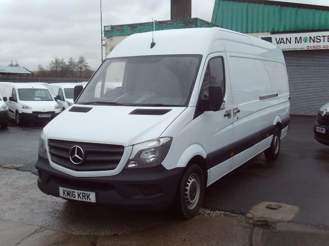 2016 Mercedes-Benz Sprinter 313cdi lwb High Roof 130ps (KM16KRK) Image 2