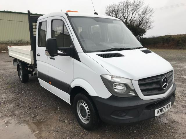 2017 Mercedes-Benz Sprinter  314 LONG CREW CAB TIPPER EURO 6