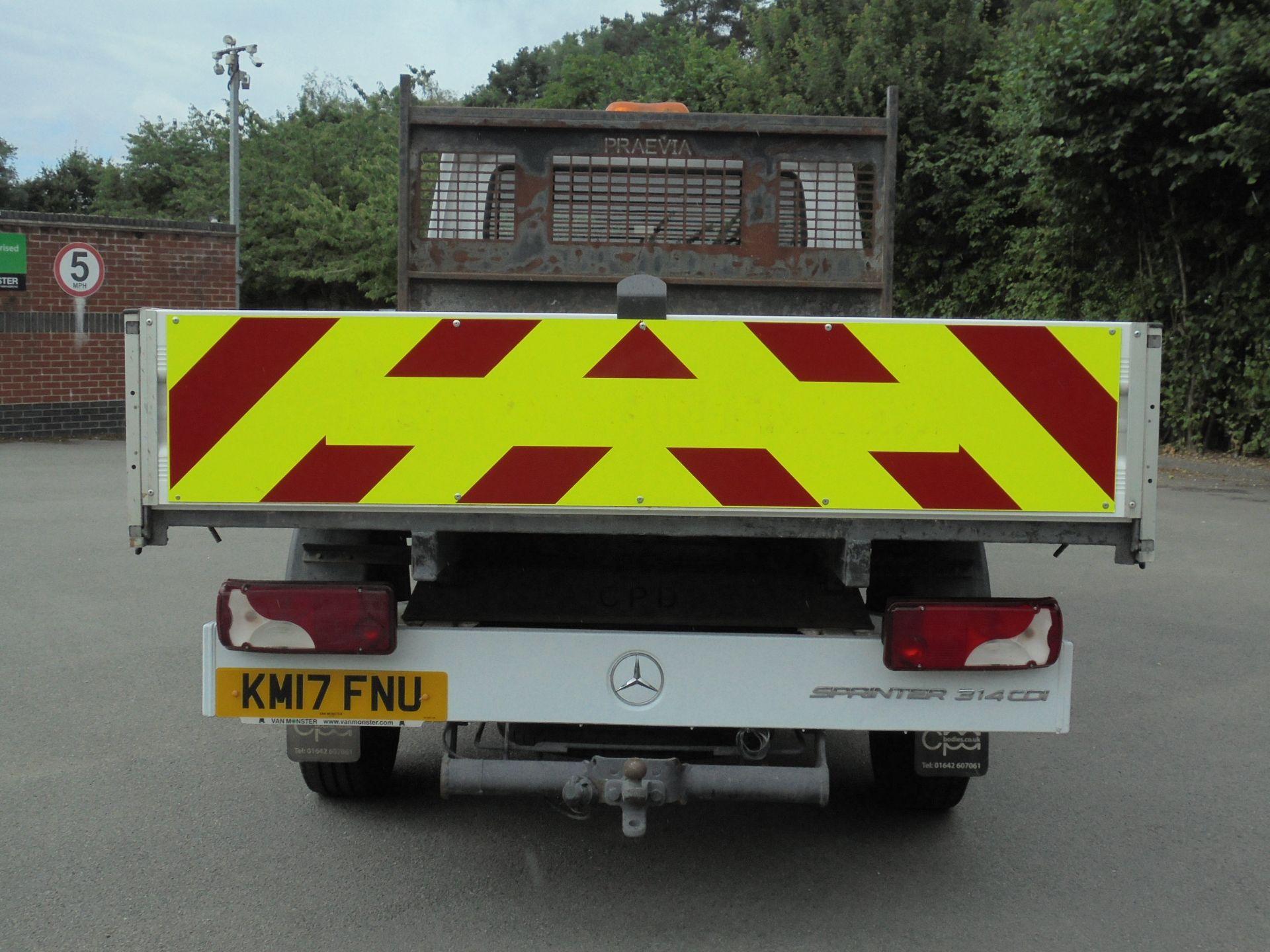 2017 Mercedes-Benz Sprinter 3.5T Crew Cab TIPPER (KM17FNU) Image 8