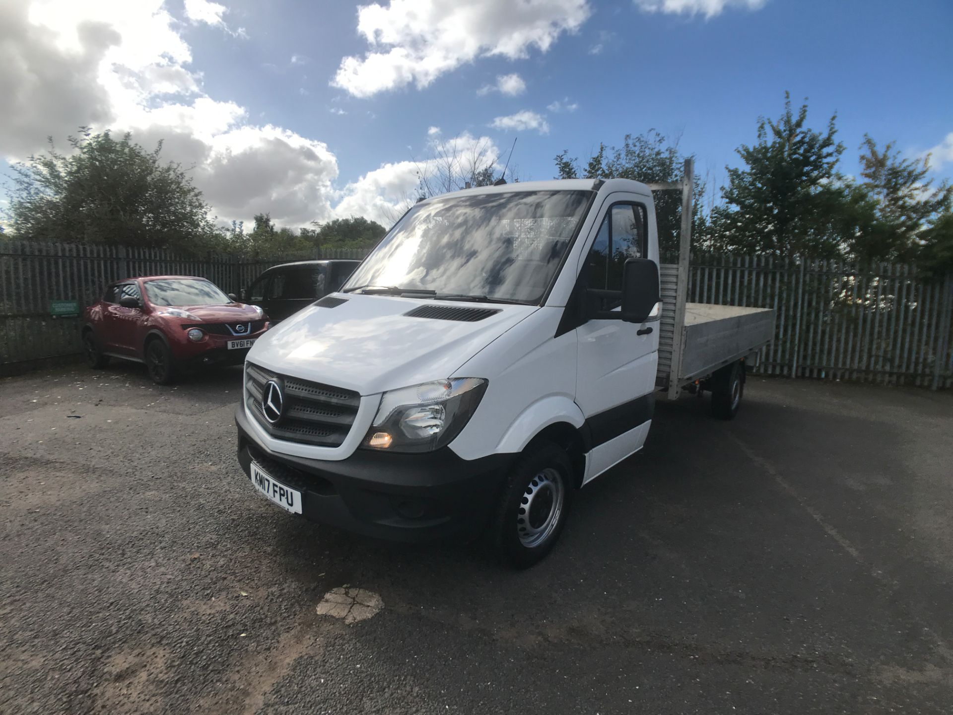 2017 Mercedes-Benz Sprinter 314CDI 13FT DROPSIDE 140PS EURO 6 (KM17FPU) Thumbnail 13