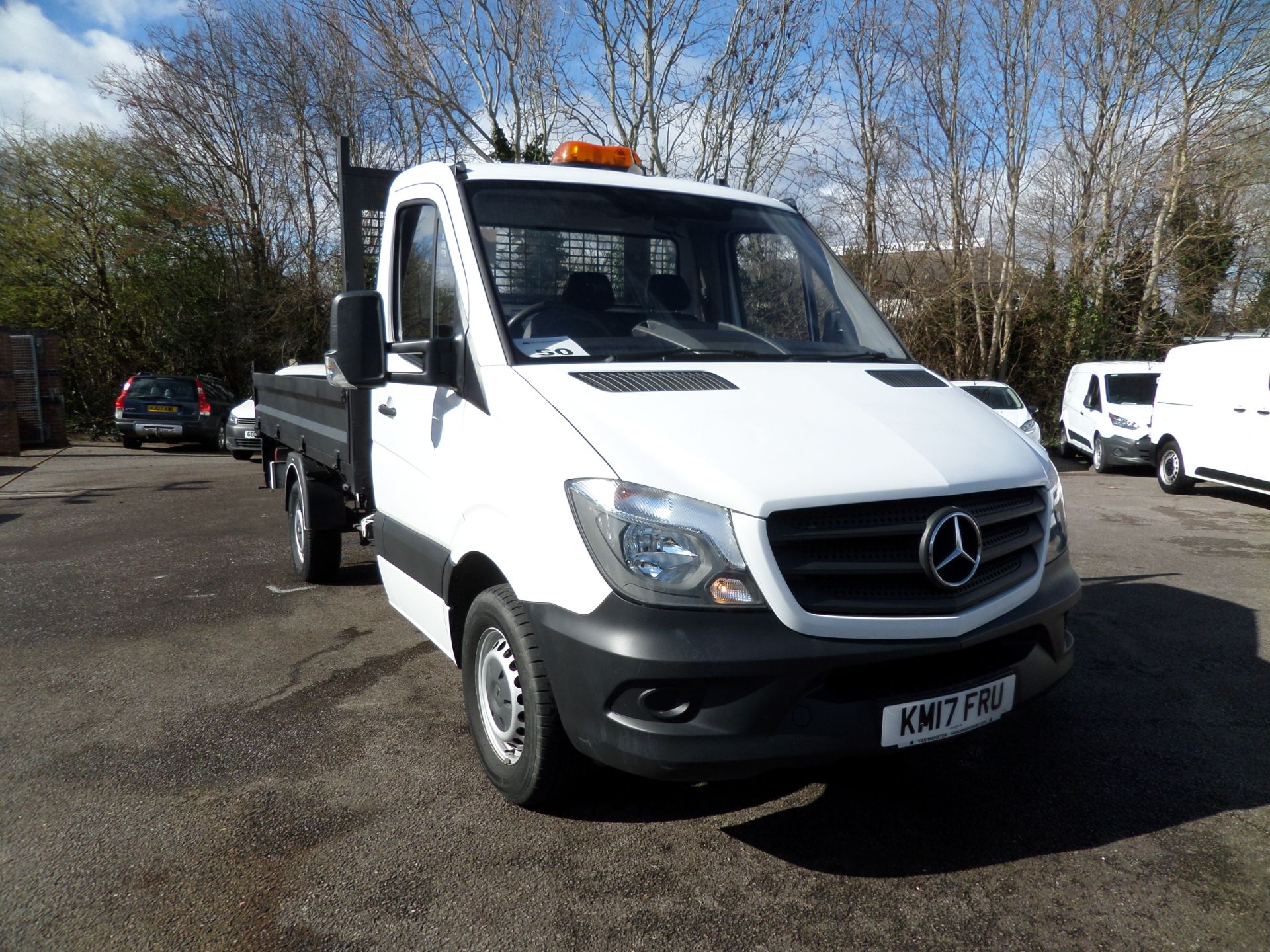 2017 Mercedes-Benz Sprinter 314 CDI Single Cab Tipper Euro 6 (KM17FRU)