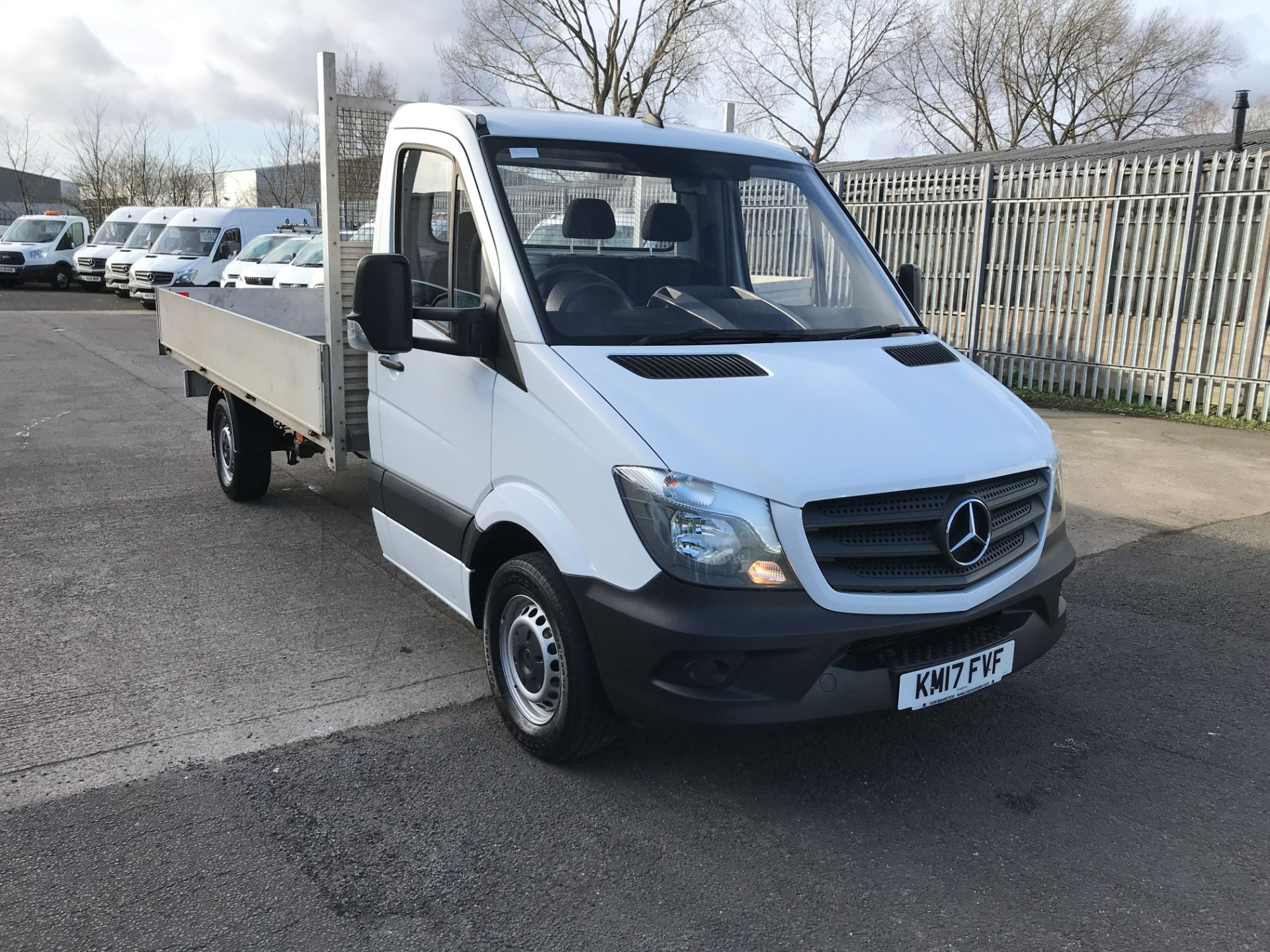 2017 Mercedes-Benz Sprinter 314CDI 13FT DROPSIDE 140PS EURO 6 (KM17FVF)