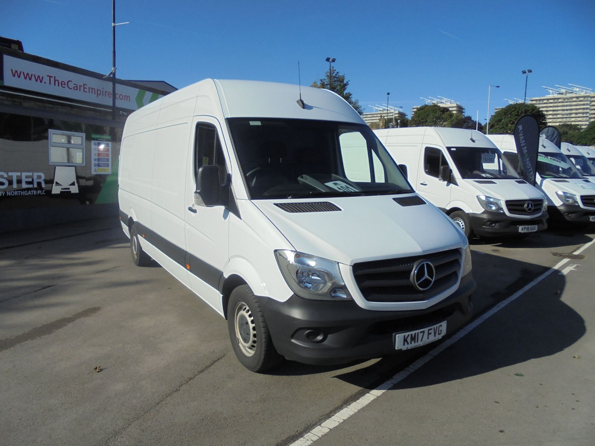 2017 Mercedes-Benz Sprinter 3.5T High Roof Van (KM17FVG)