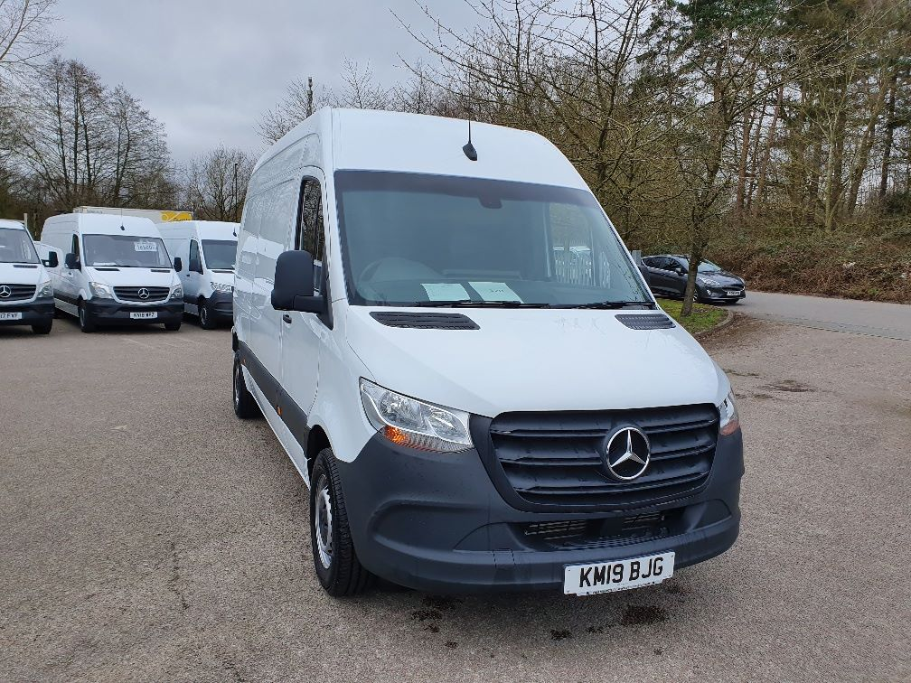 2019 Mercedes-Benz Sprinter  314 MWB H/R BLUE EFFICIENCY  2.2 143PS VAN EURO 6 (KM19BJG)