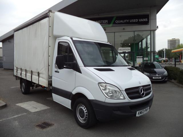 2013 Mercedes-Benz Sprinter LWB 313CDi CURTAIN SIDE VAN EURO 5 (KM63PHF)