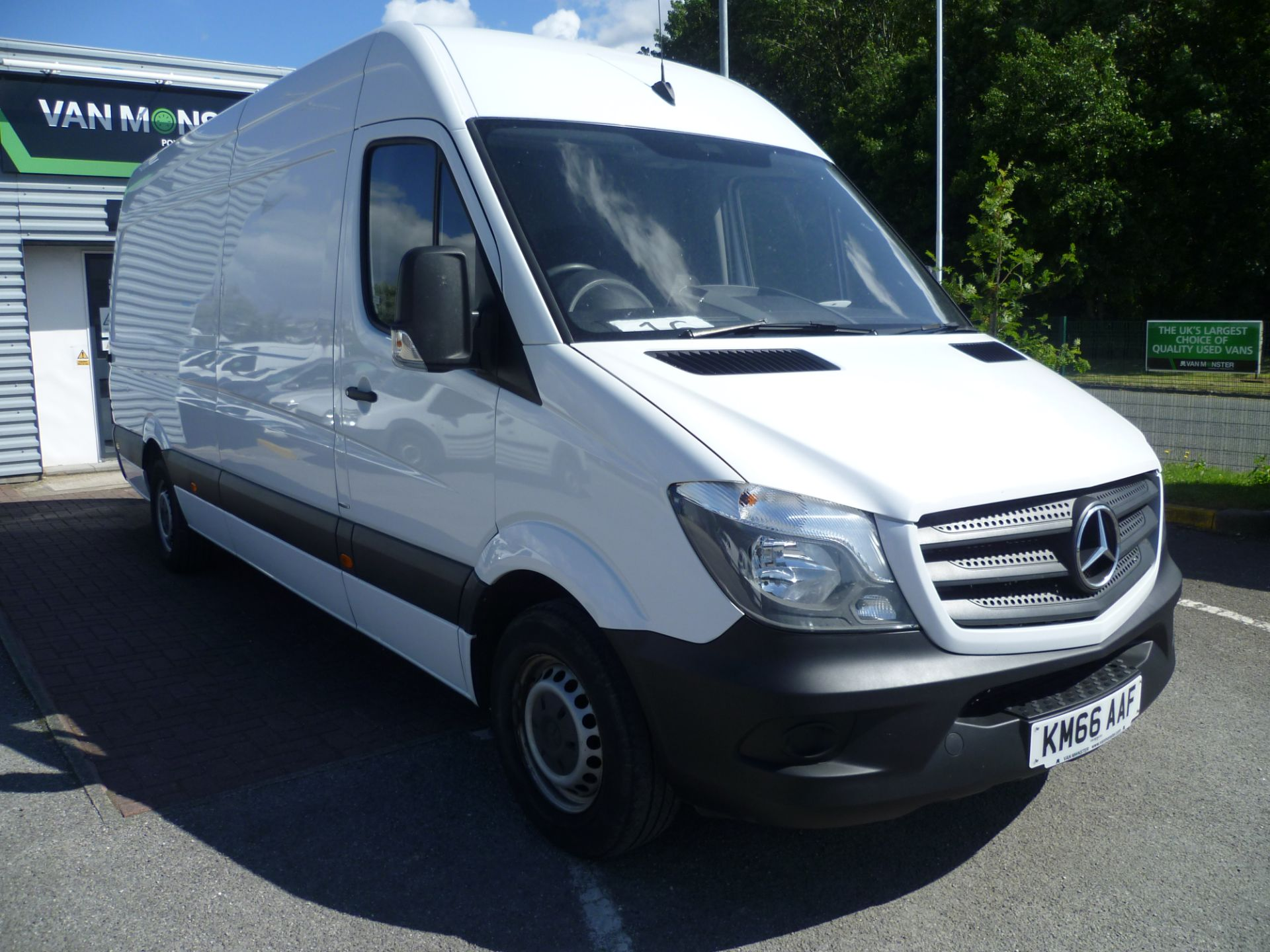 2016 Mercedes-Benz Sprinter 314CDI LWB HIGH ROOF 140PS EURO 6 (KM66AAF)