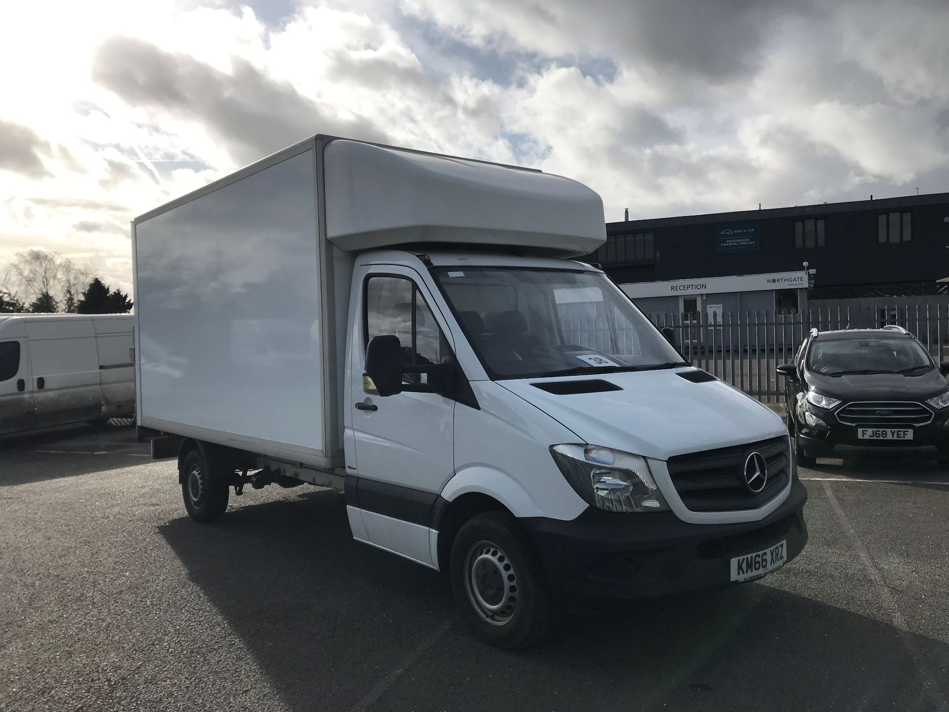 2016 Mercedes-Benz Sprinter  314 LWB 3.5T LUTON BLUE EFFICIENCY EURO 6 (KM66XRZ)