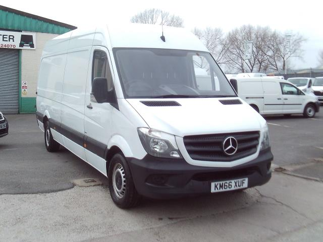 2016 Mercedes-Benz Sprinter 314cdi lwb High Roof 140ps New Shape (KM66XUF)