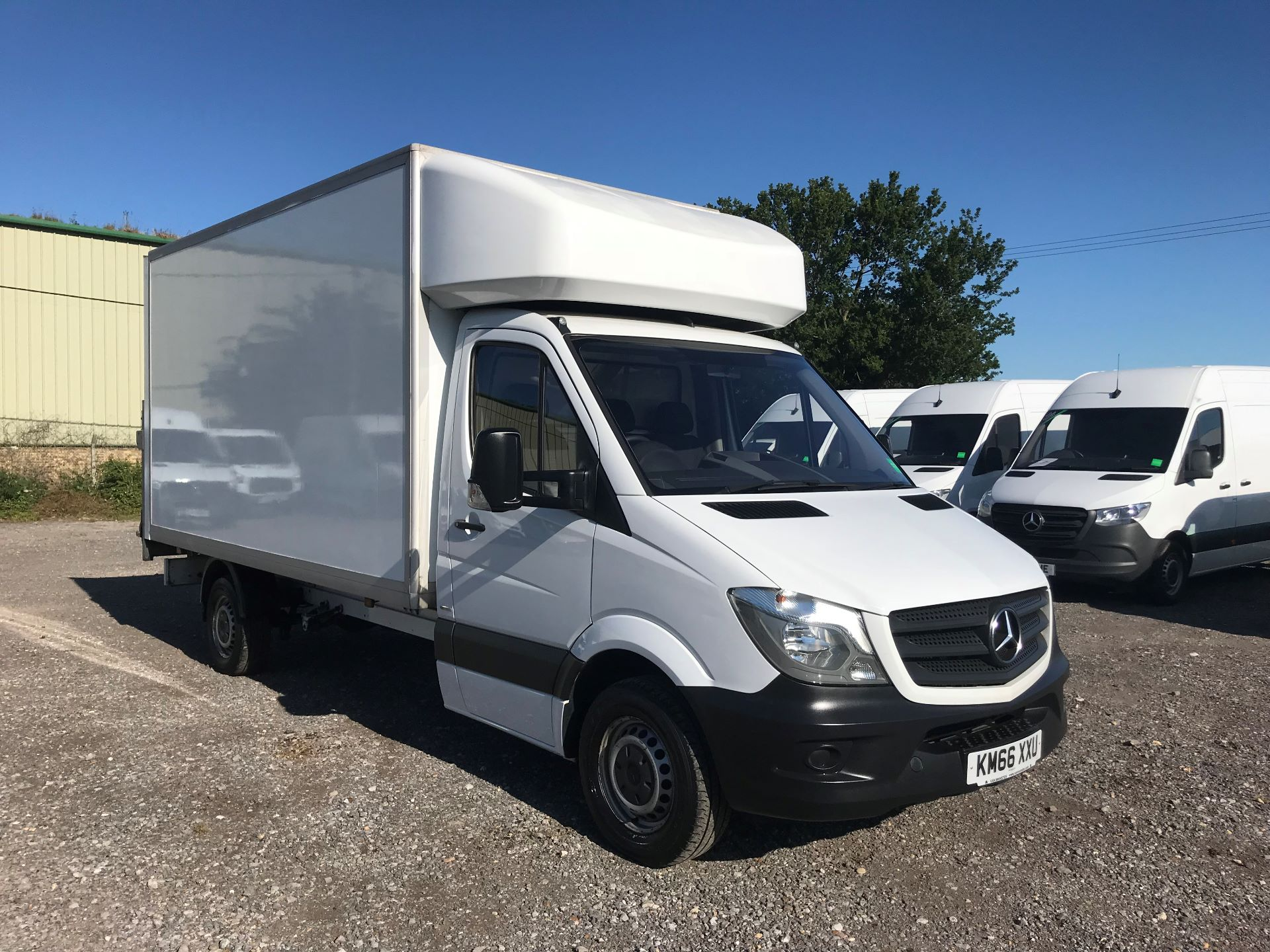 2016 Mercedes-Benz Sprinter 314 LWB LUTON EURO 6 With Tail Lift (KM66XXU)