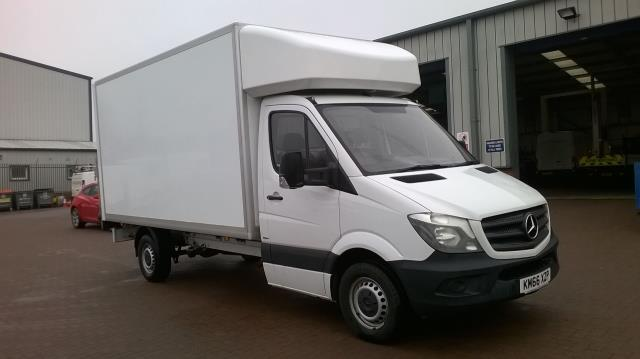 2016 Mercedes-Benz Sprinter 314 LWB LUTON BLUE EFFICIENCY EURO 6 (KM66XZP) Thumbnail 1