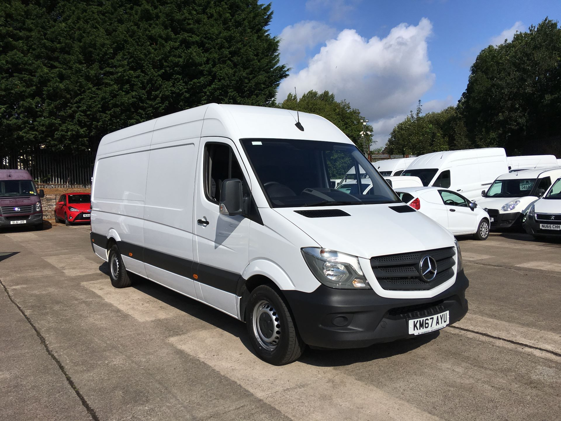 2017 Mercedes-Benz Sprinter 314 CDI LWB HIGH ROOF VAN EURO 6