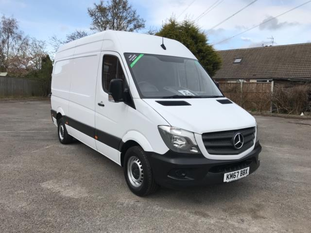 2017 Mercedes-Benz Sprinter 3.5T High Roof MWB Van Euro 6 (KM67BBX)