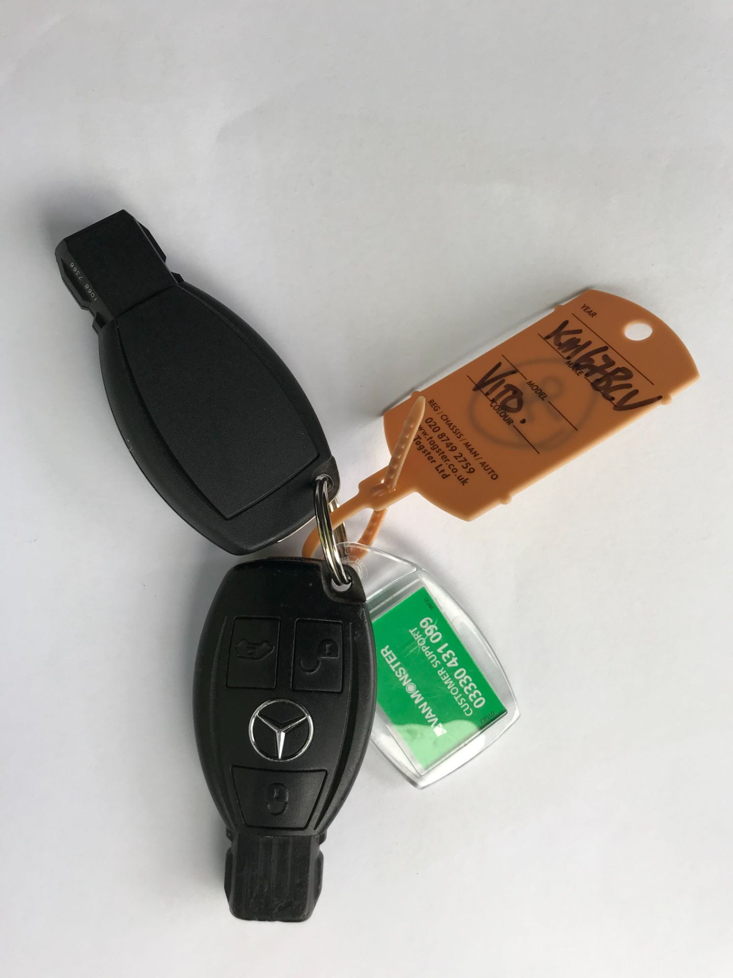 2017 Mercedes-Benz Vito LONG 111CDI VAN EURO 6  (KM67BCV) Image 68
