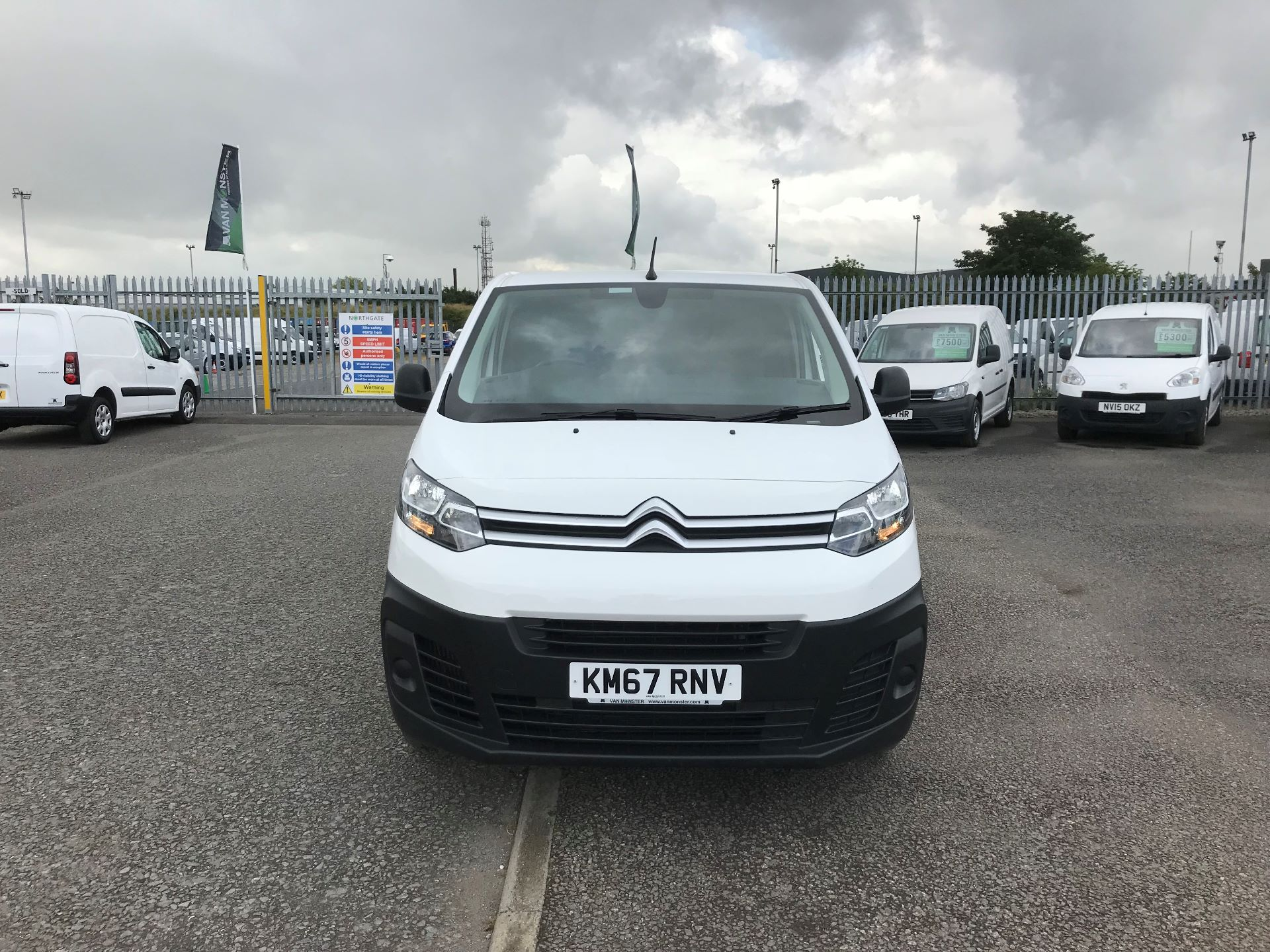 2018 Citroen Dispatch 1200 1.6 Bluehdi 95 Van Enterprise (KM67RNV)