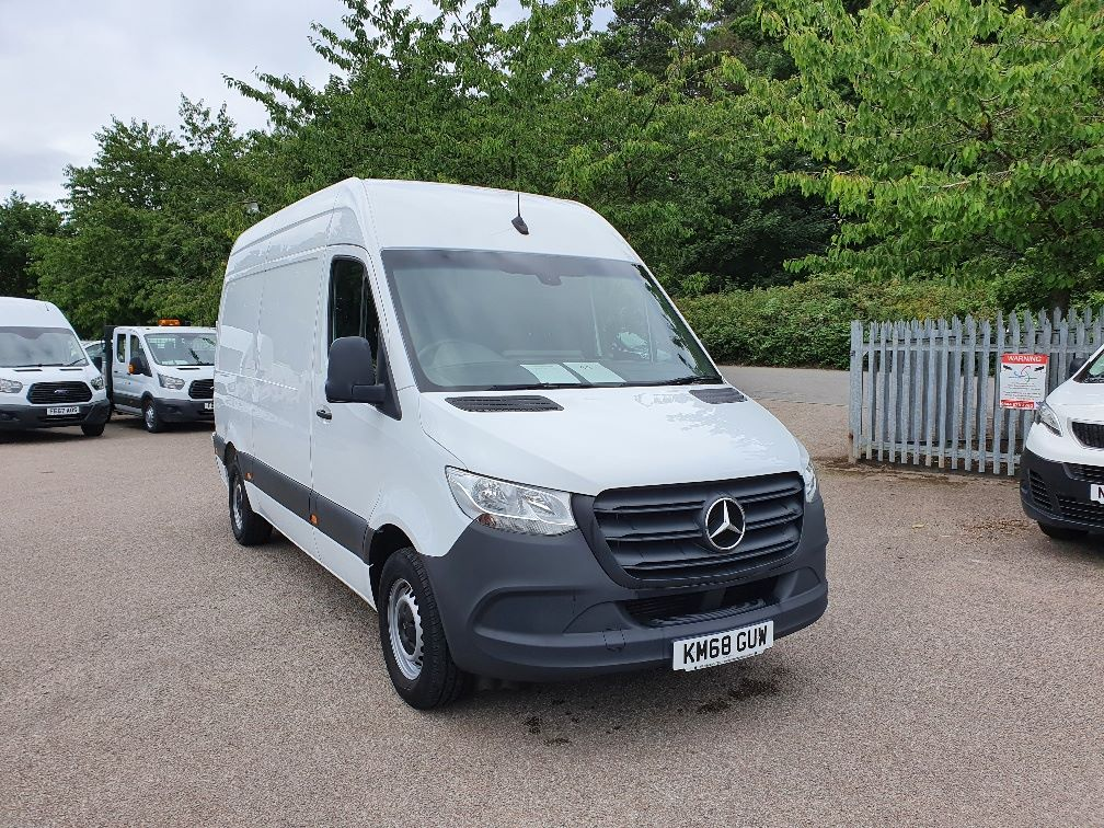 2018 Mercedes-Benz Sprinter 314 MWB 2.2 143PS EURO 6 (KM68GUW)