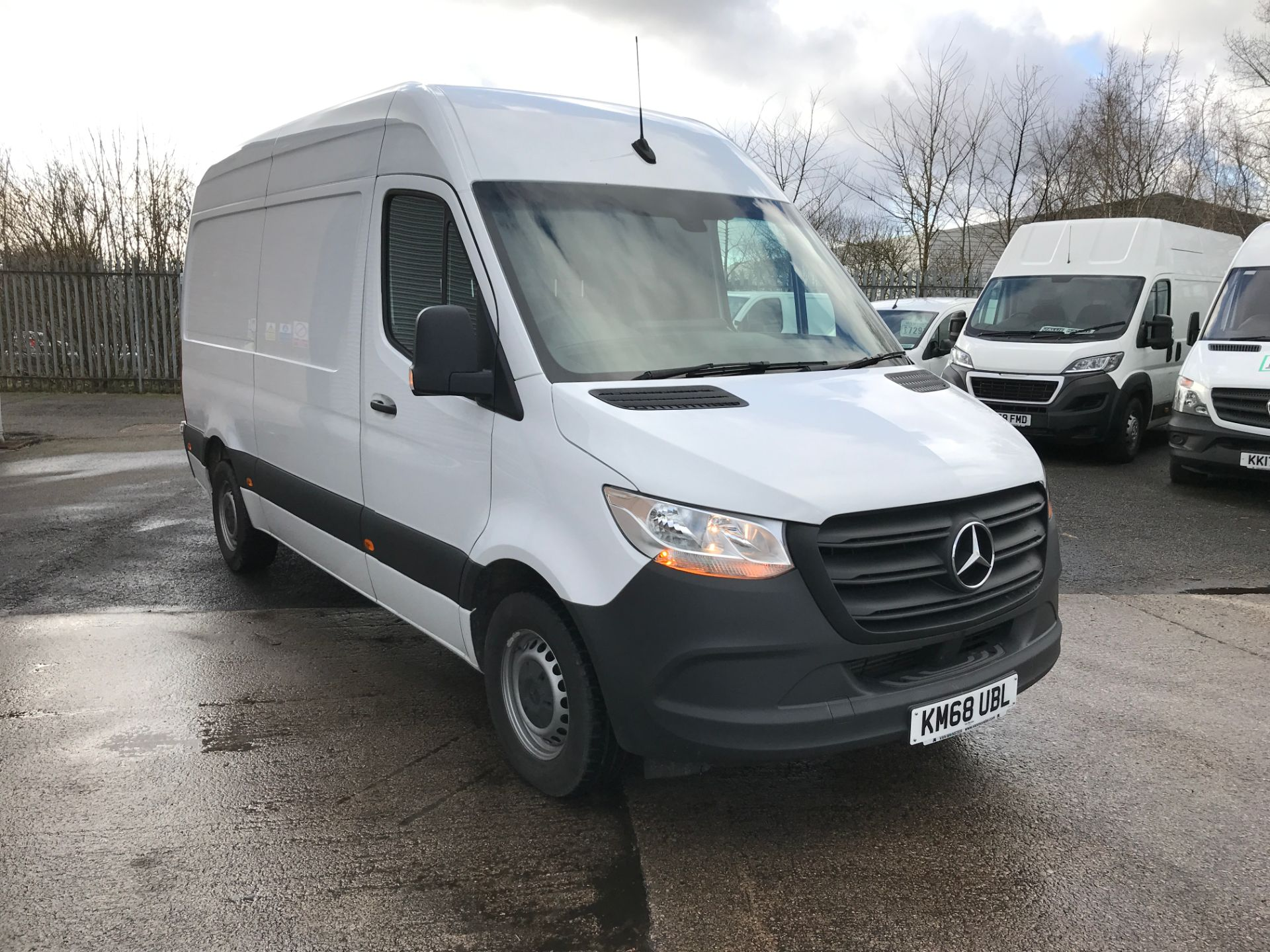 2018 Mercedes-Benz Sprinter 314CDI L2 H2 140PS EURO 6 (KM68UBL) Thumbnail 1