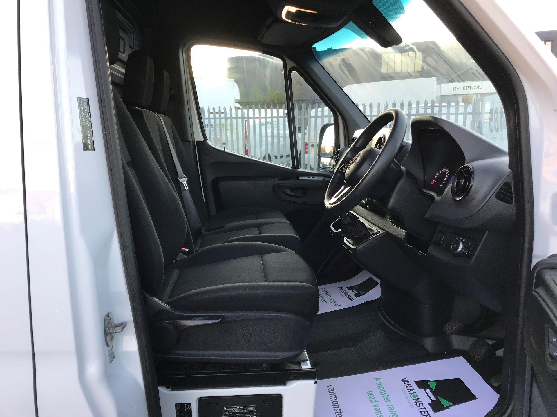 2018 Mercedes-Benz Sprinter  314 MWB H/R VAN EURO 6 (KM68UCU) Image 21