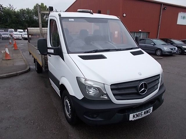 2015 Mercedes-Benz Sprinter  313 LWB DROP SIDE EURO 5 (KN15MWO)
