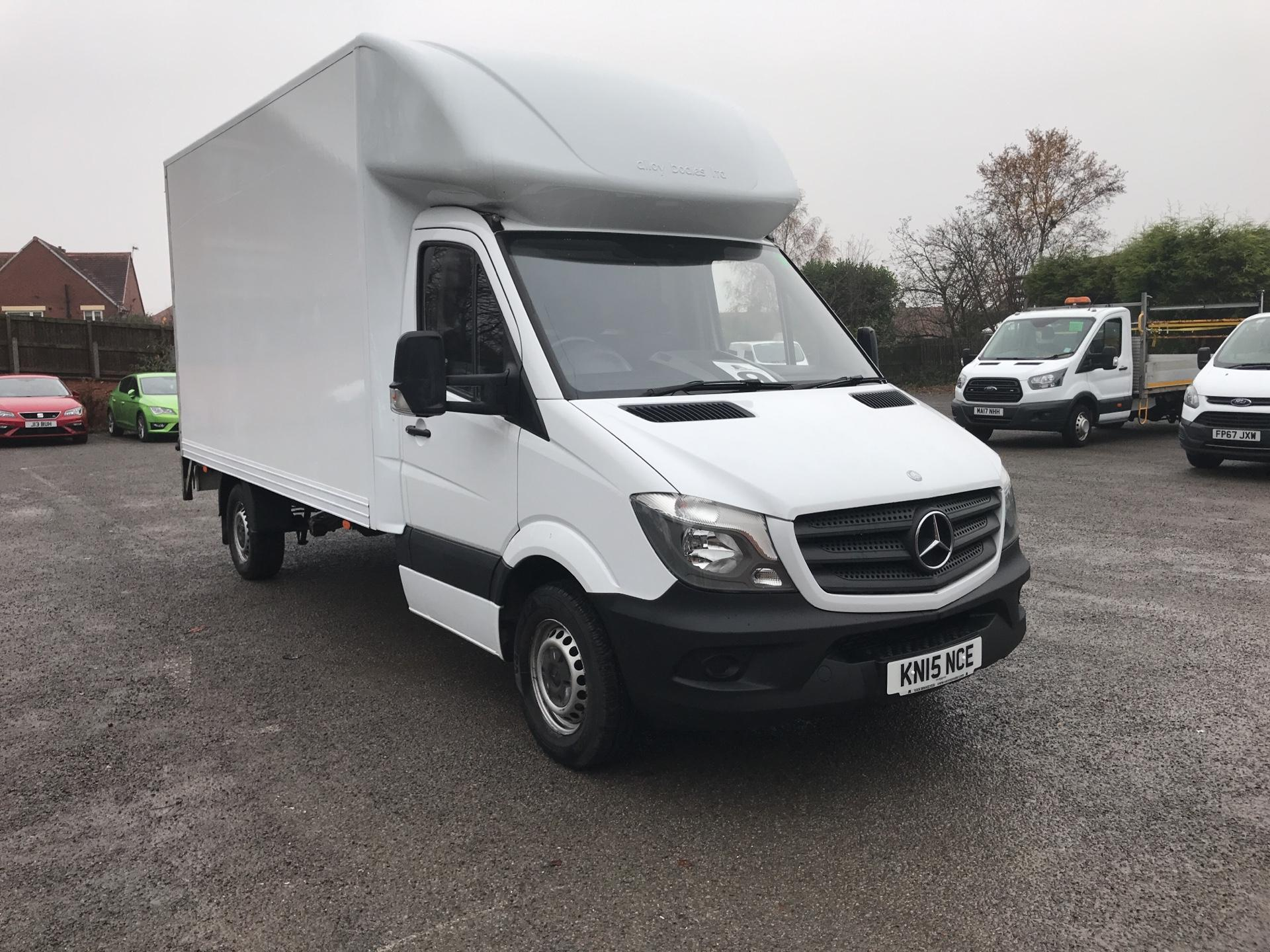 2015 Mercedes-Benz Sprinter 313 LWB LONG LUTON TAIL LIFT EURO 5  (KN15NCE)