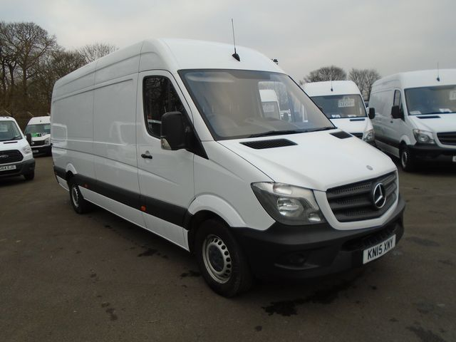 2015 Mercedes-Benz Sprinter 313 CDI LWB 3.5t High Roof Van (KN15XNY)