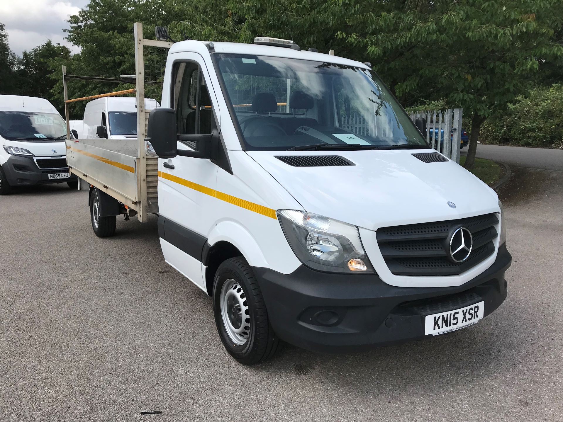 2015 Mercedes-Benz Sprinter 313 LWB DROP SIDE EURO 5 (KN15XSR)