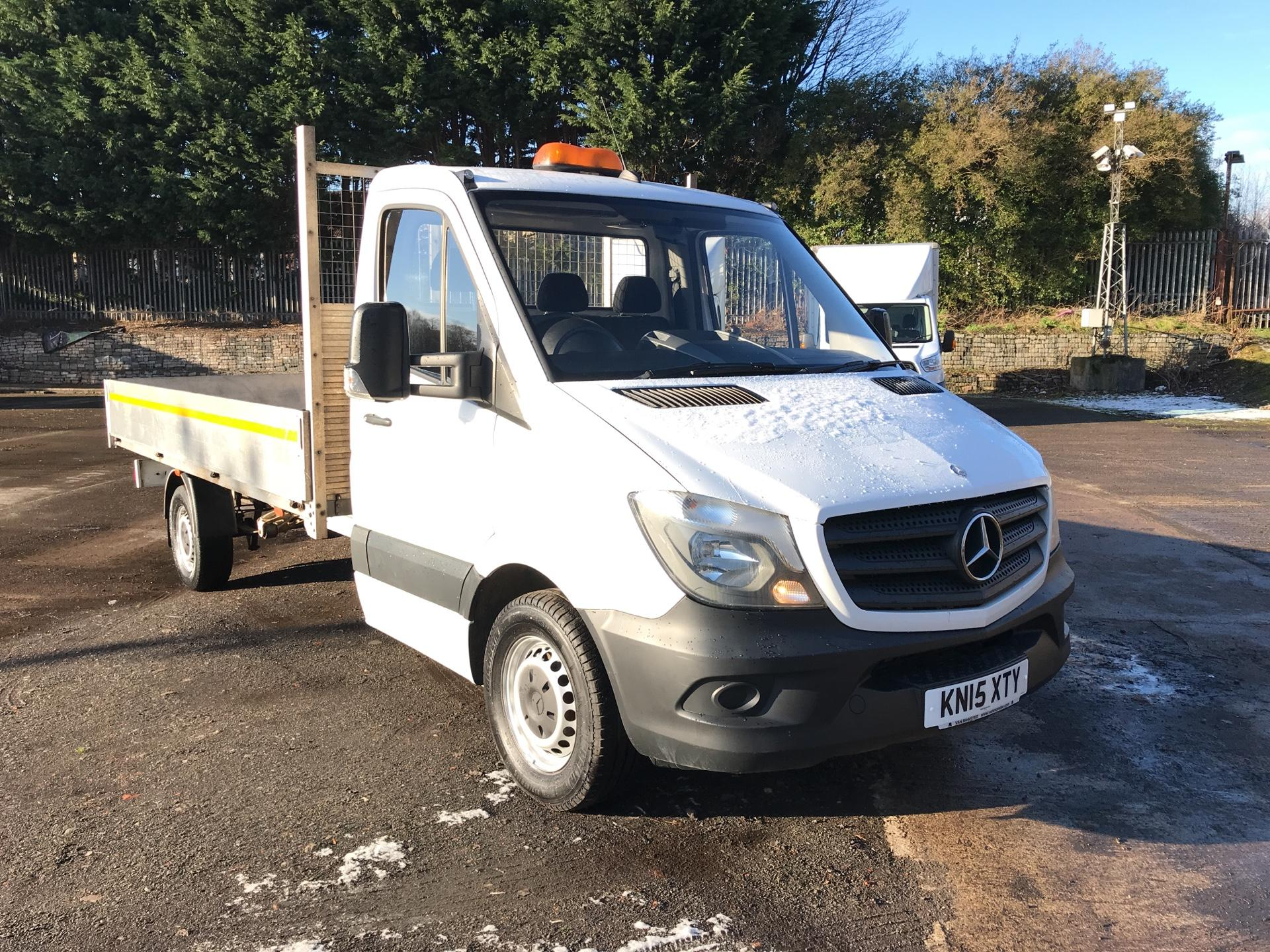 1e1c0b3c595be4 2015 Mercedes-Benz Sprinter 313 LWB 3.5T DROP SIDE EURO 5 (KN15XTY)