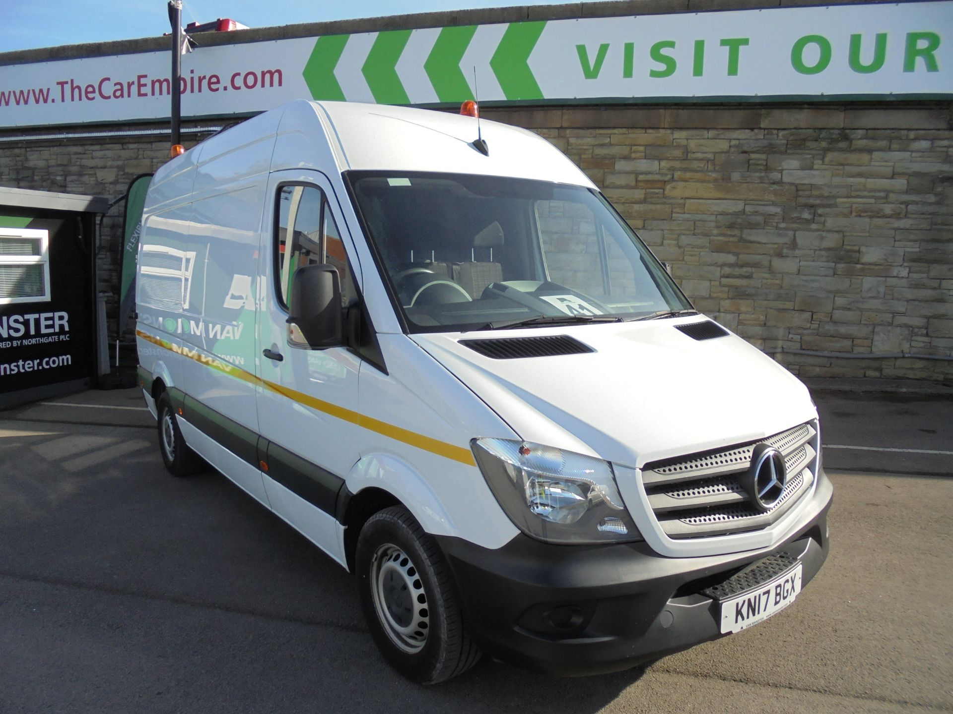 2017 Mercedes-Benz Sprinter 3.5T High Roof Van (KN17BGX)