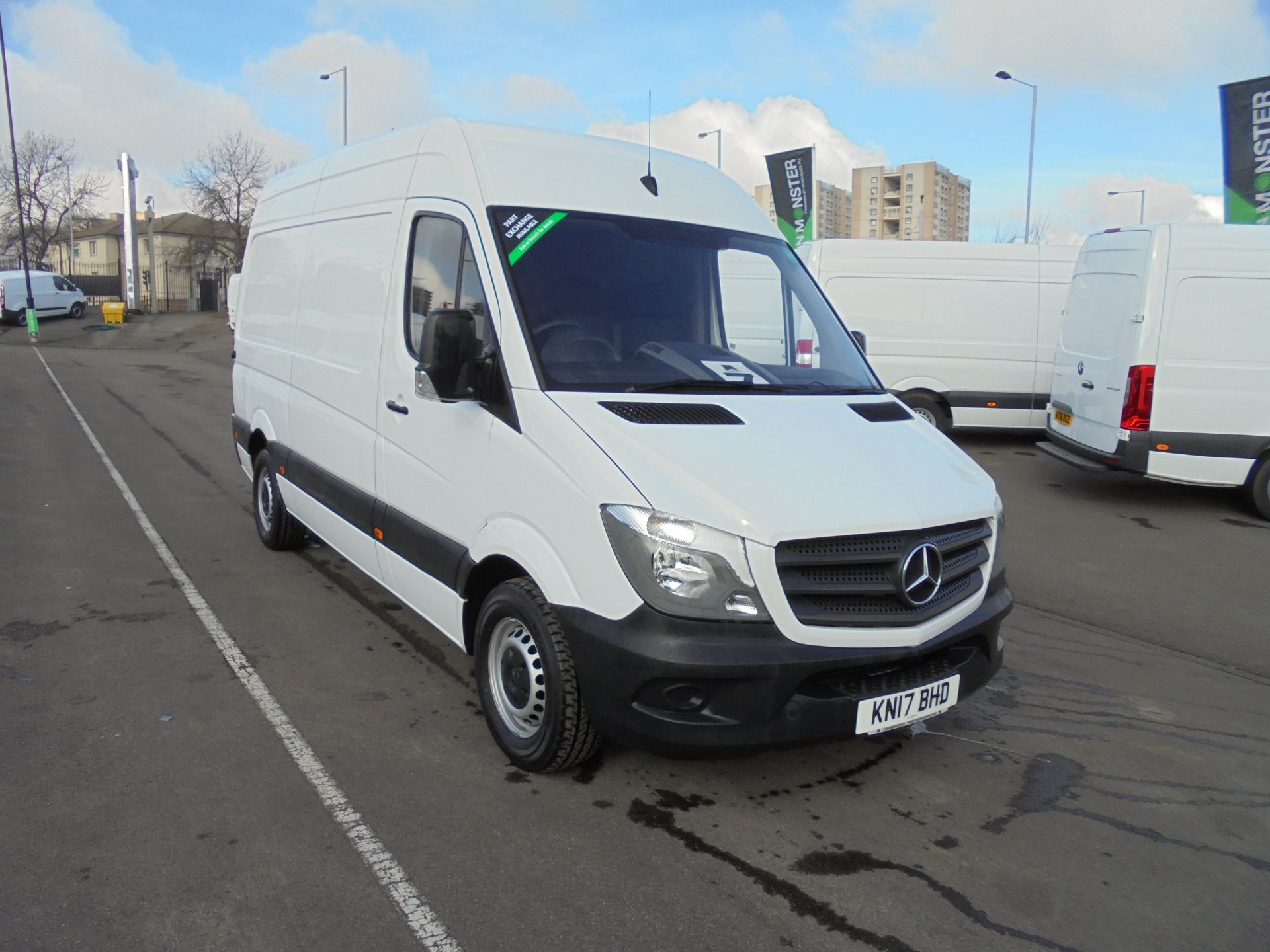 2017 Mercedes-Benz Sprinter 314 CDI 3.5T High Roof MWB Van (KN17BHD)