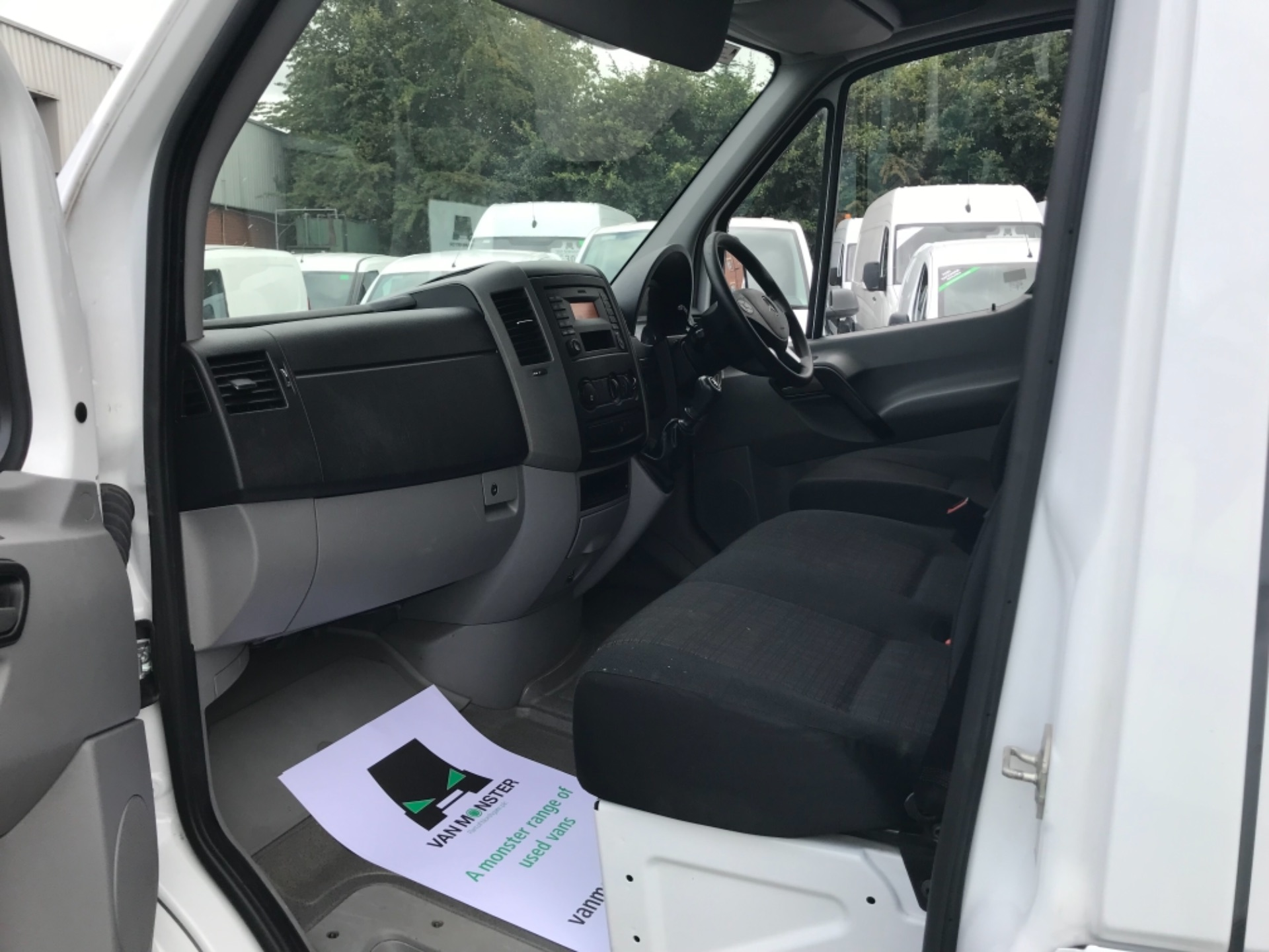 2017 Mercedes-Benz Sprinter  314 LWB H/R VAN EURO 6 (KN17BJO) Image 10