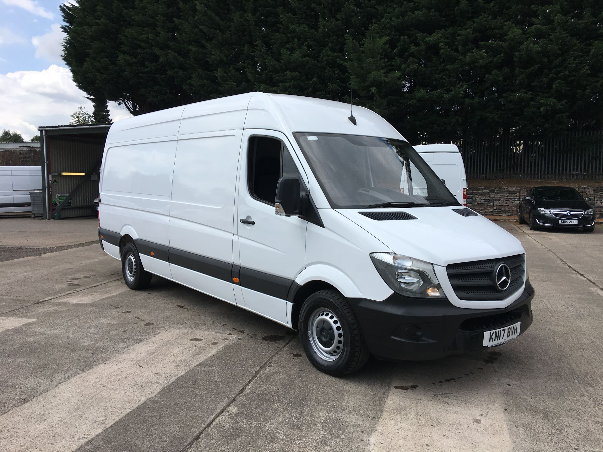 2017 Mercedes-Benz Sprinter 314 CDI LWB HIGH ROOF VAN EURO 6 (KN17BVH)