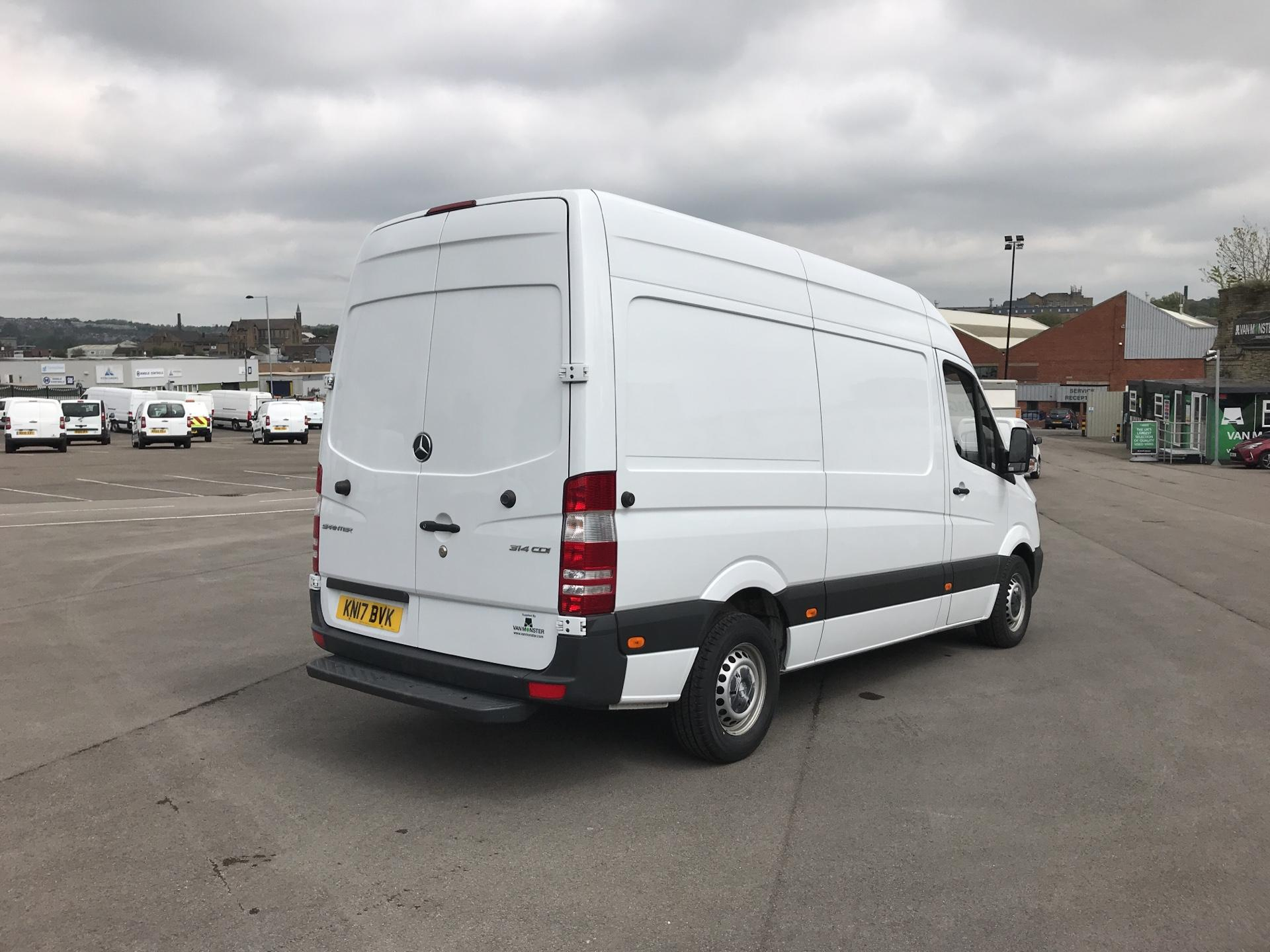 2017 Mercedes-Benz Sprinter 3.5T High Roof Van MWB (KN17BVK) Image 3