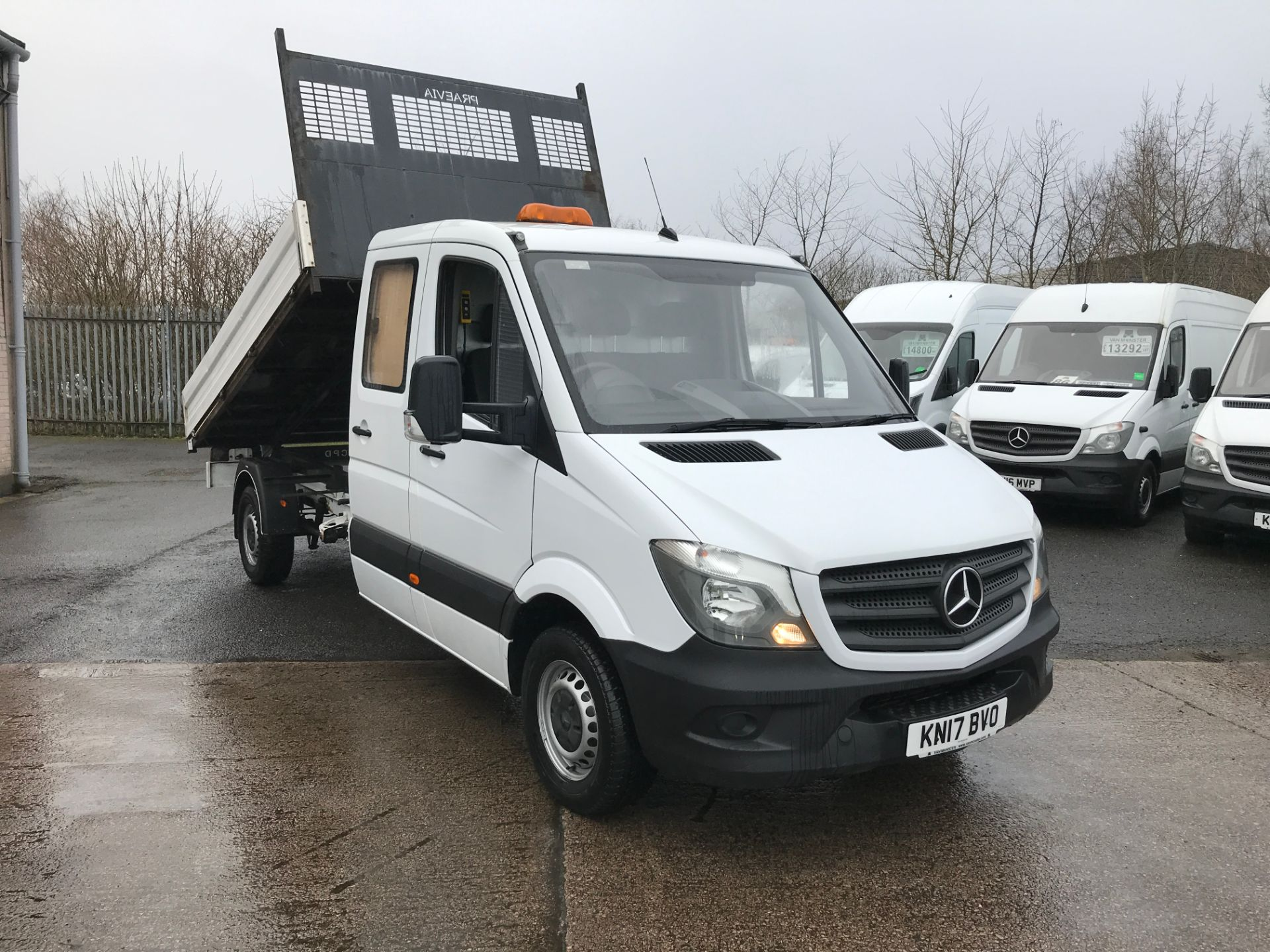 2017 Mercedes-Benz Sprinter 314 CDI LONG D/CAB TIPPER (KN17BVO)
