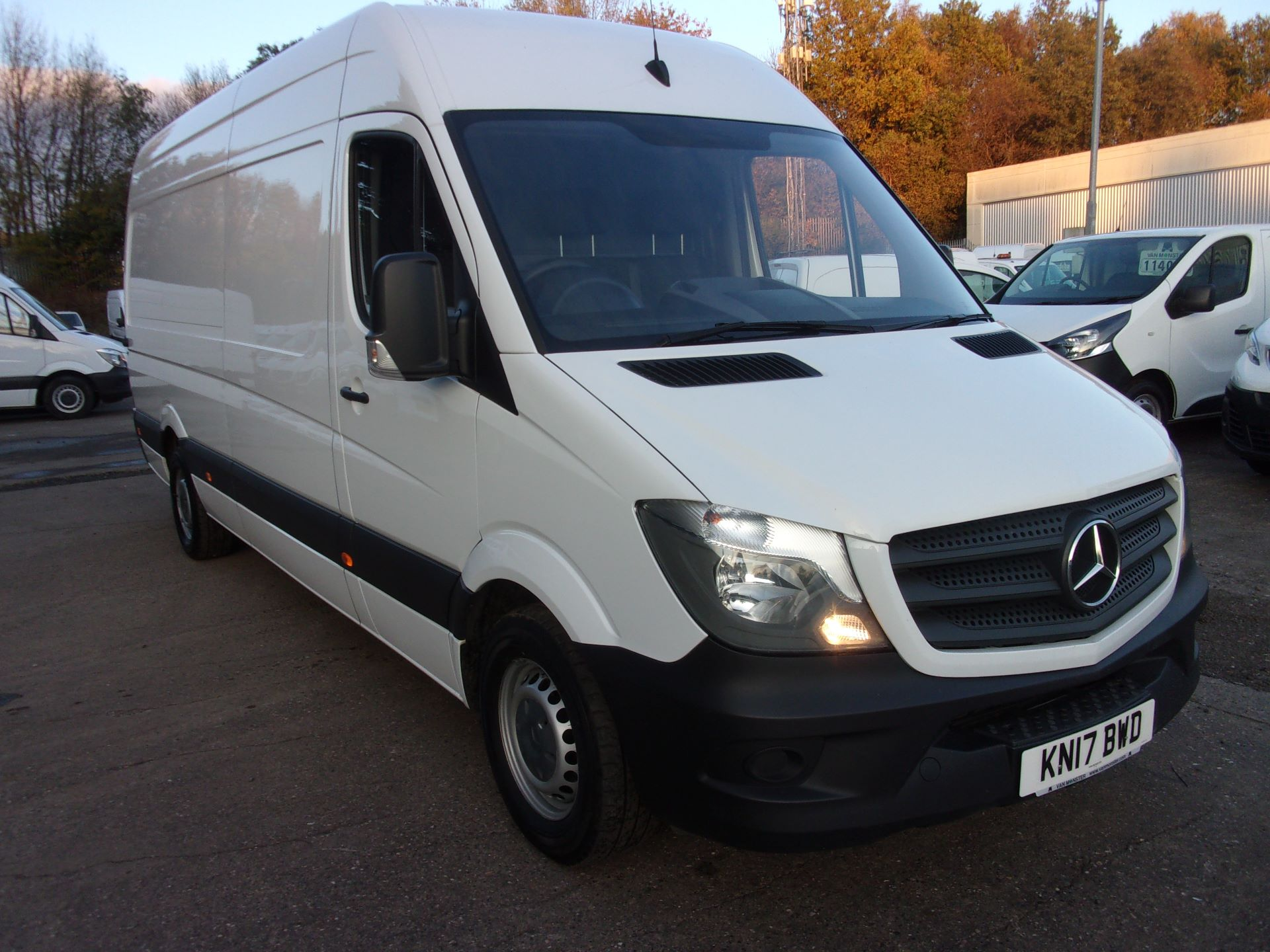 2017 Mercedes-Benz Sprinter 314 CDI LWB HIGH ROOF EURO 6 (KN17BWD)