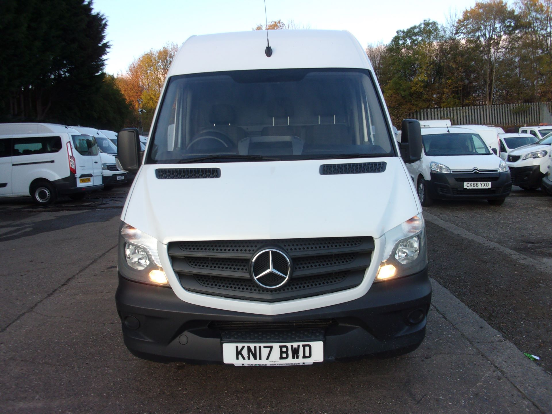2017 Mercedes-Benz Sprinter 314 CDI LWB HIGH ROOF VAN EURO 6 (KN17BWD) Image 2