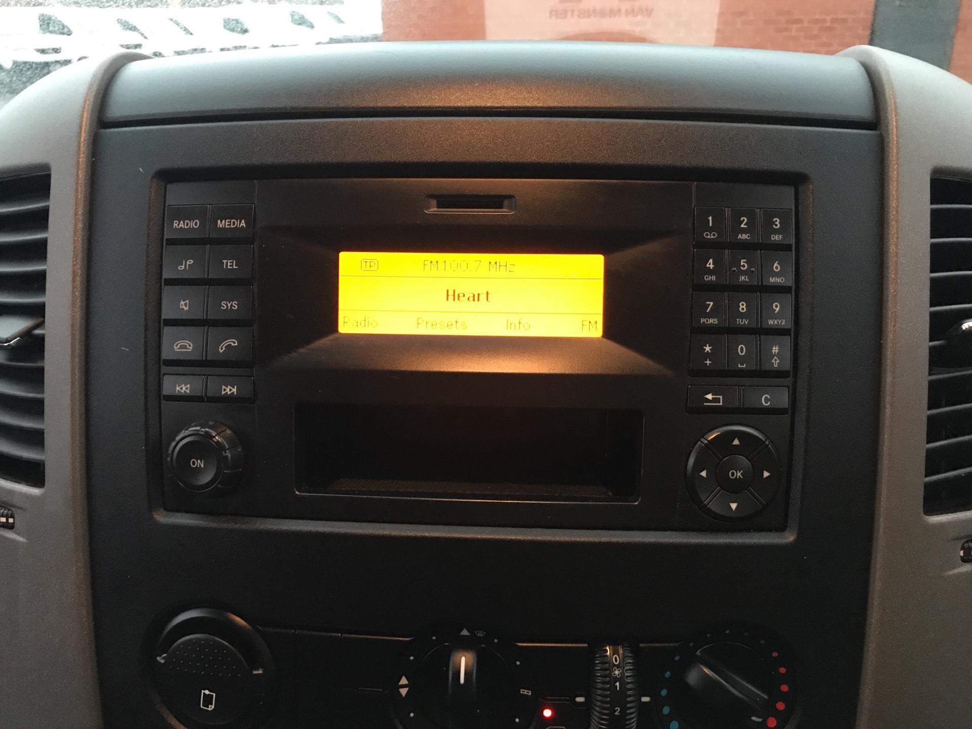 2017 Mercedes-Benz Sprinter 314 LWB H/R VAN EURO 6  (KN17BWV) Image 10