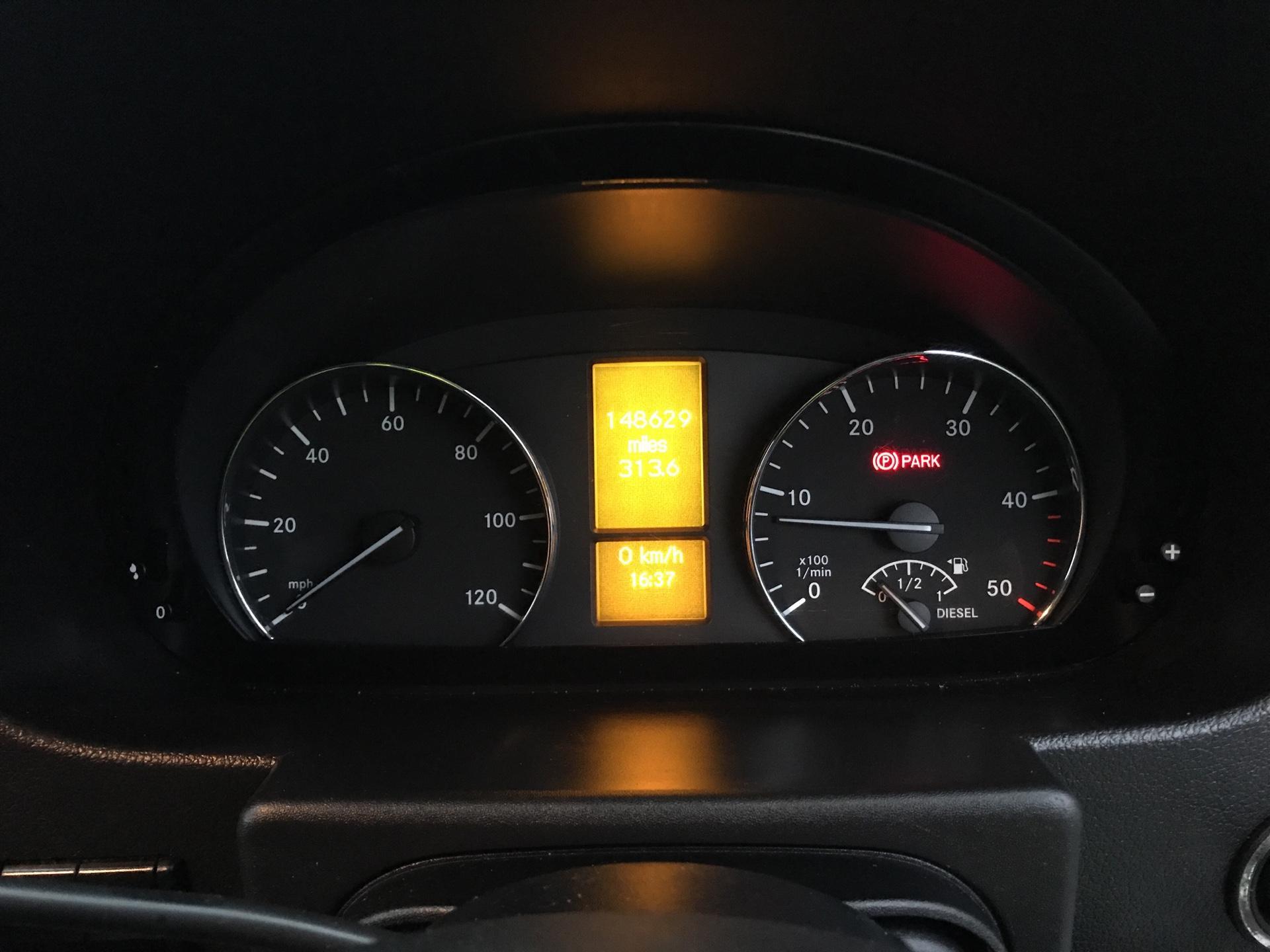 2017 Mercedes-Benz Sprinter 314 LWB H/R VAN EURO 6  (KN17BWV) Image 13