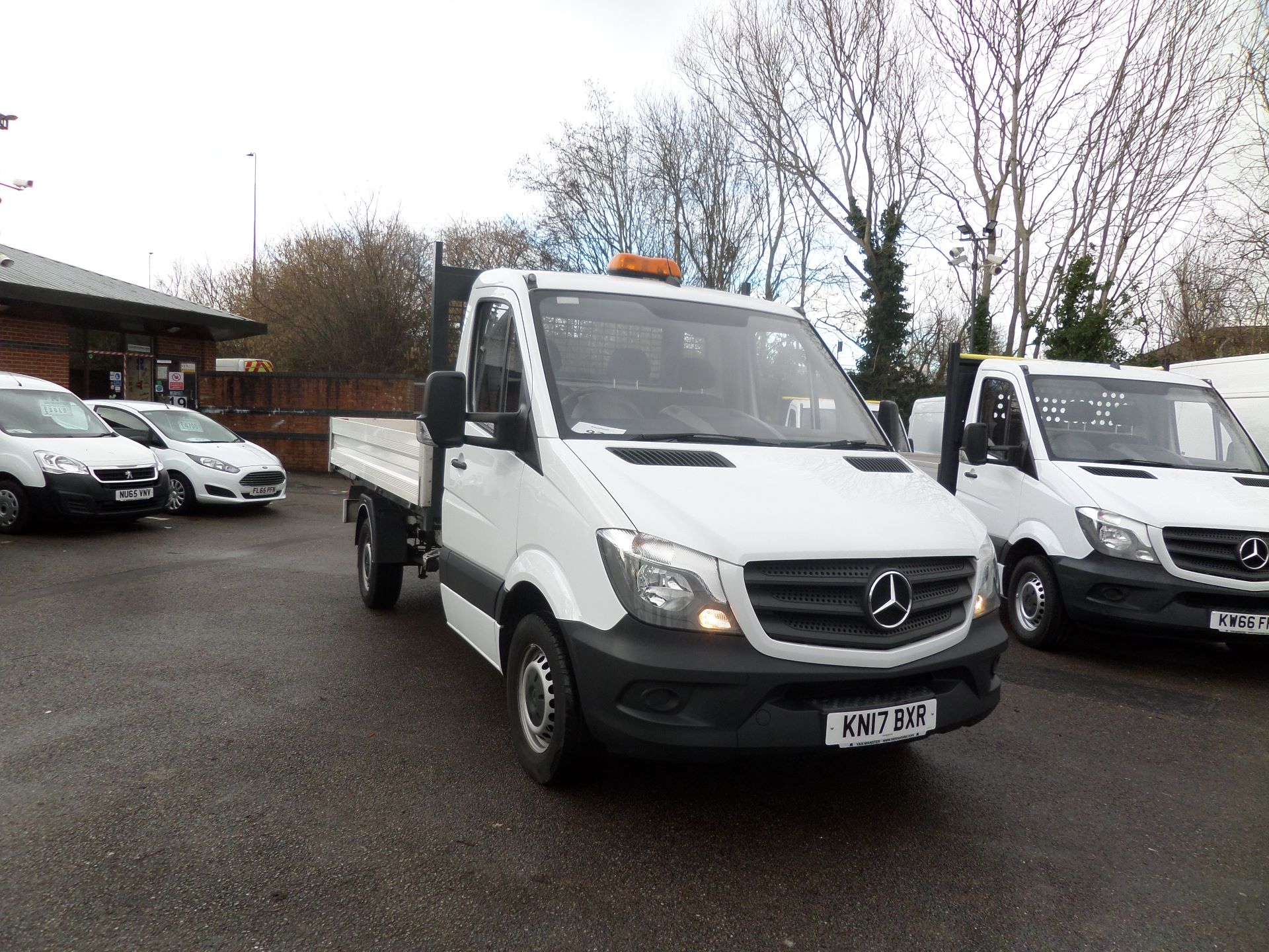 2017 Mercedes-Benz Sprinter 314 CDI Single Cab Tipper Euro 6 (KN17BXR)