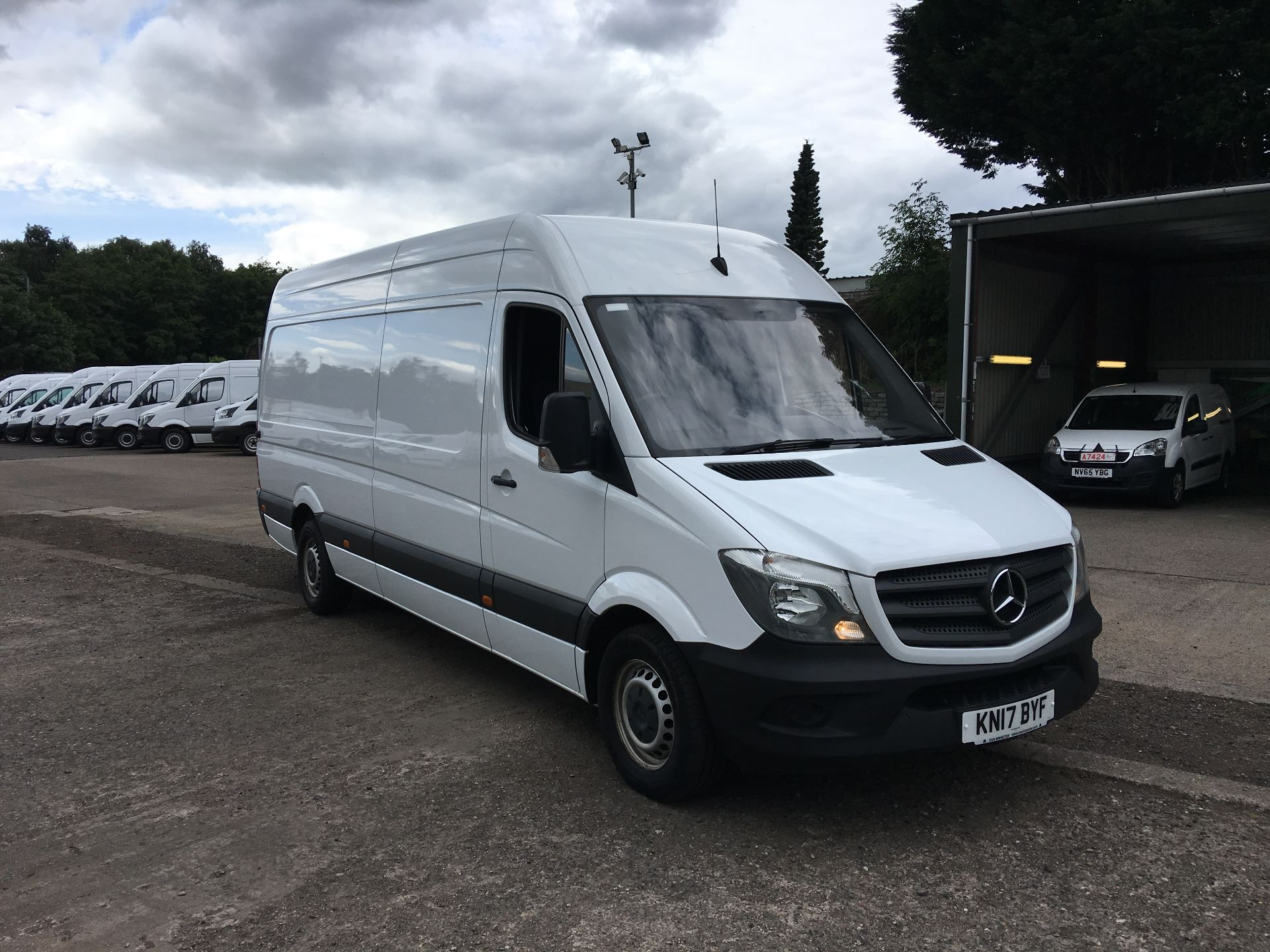 2017 Mercedes-Benz Sprinter 314 CDI LWB HIGH ROOF VAN EURO 6 (KN17BYF)