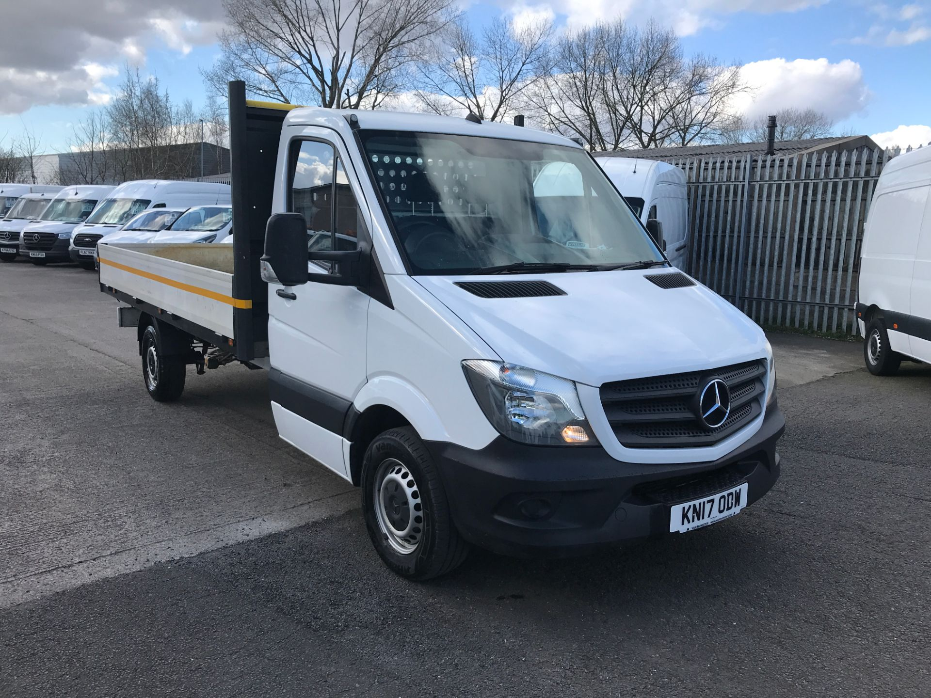2017 Mercedes-Benz Sprinter 314CDI 13FT DROPSIDE 140PS EURO 6 (KN17ODW)