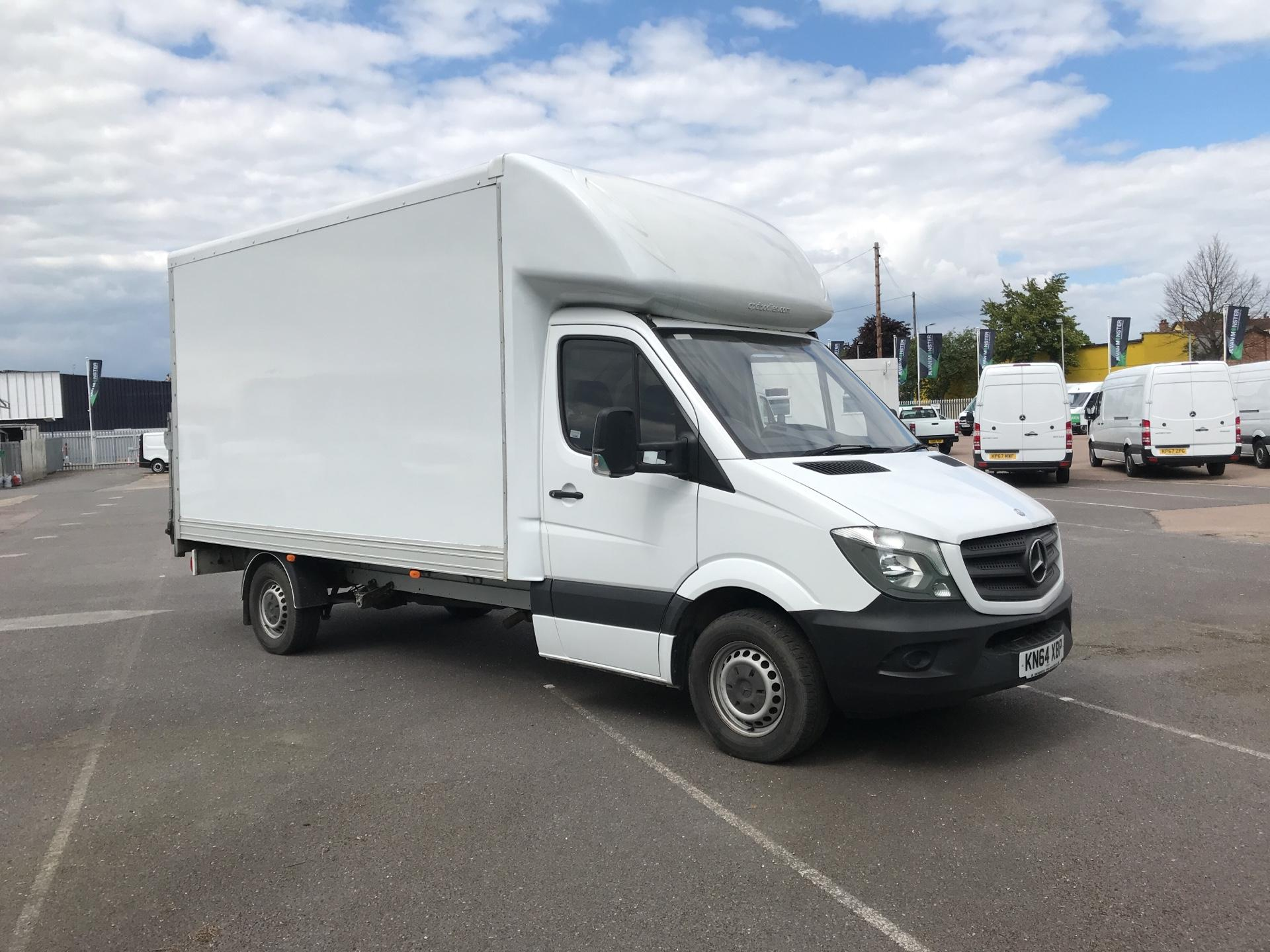 2014 Mercedes-Benz Sprinter  313 LWB LONG LUTON EURO 5 (KN64XBP)