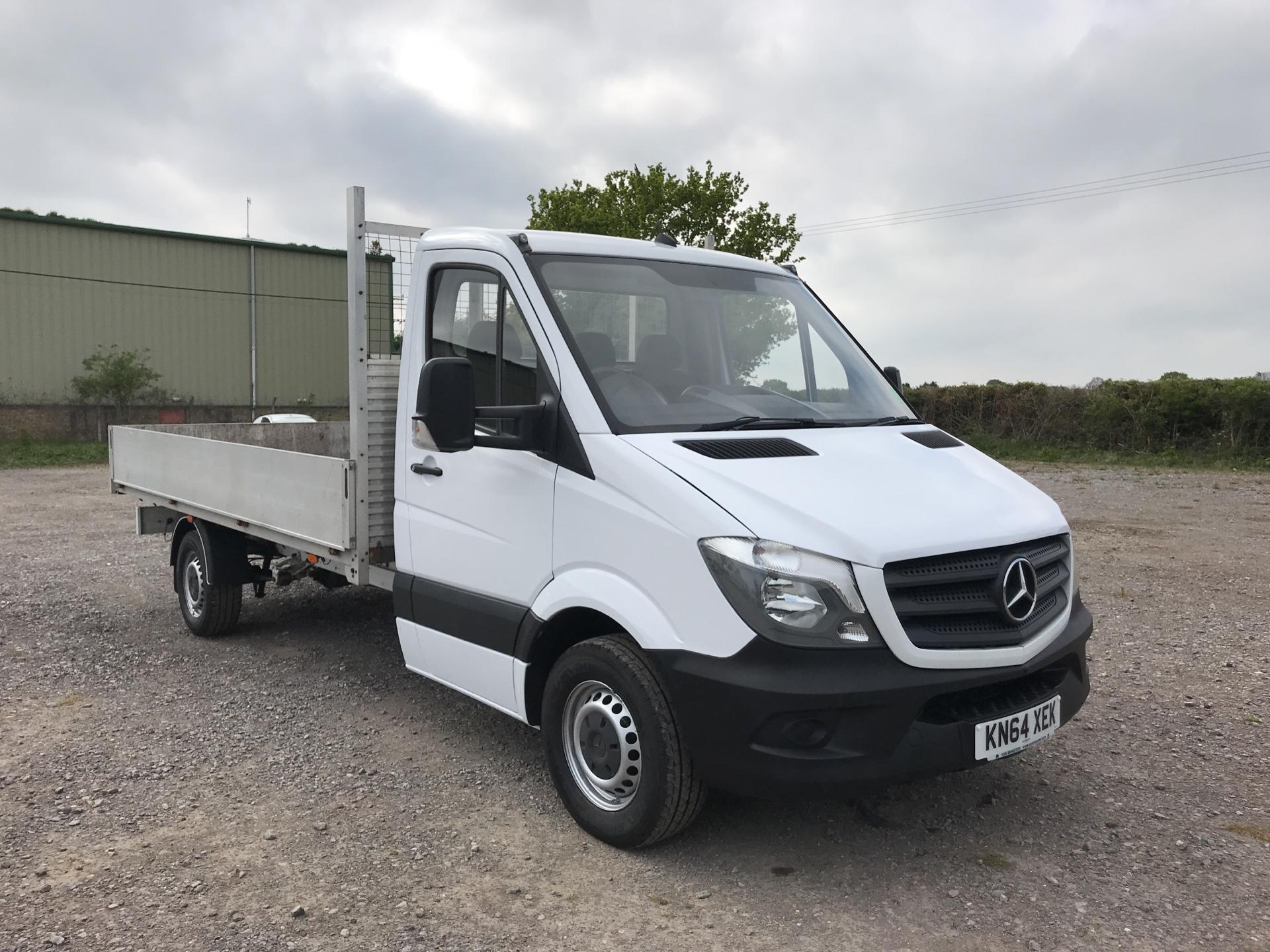 2014 Mercedes-Benz Sprinter 313 LWB DROP SIDE EURO 5 (KN64XEK)