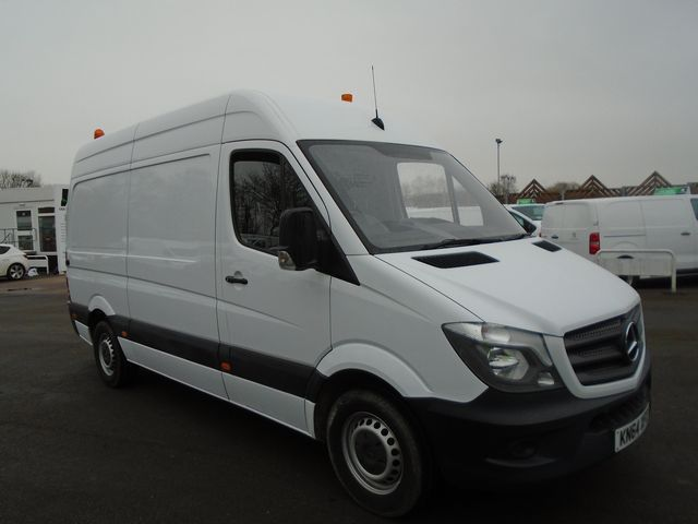 2014 Mercedes-Benz Sprinter 313 CDI MWB 3.5t High Roof Van (KN64XFO)